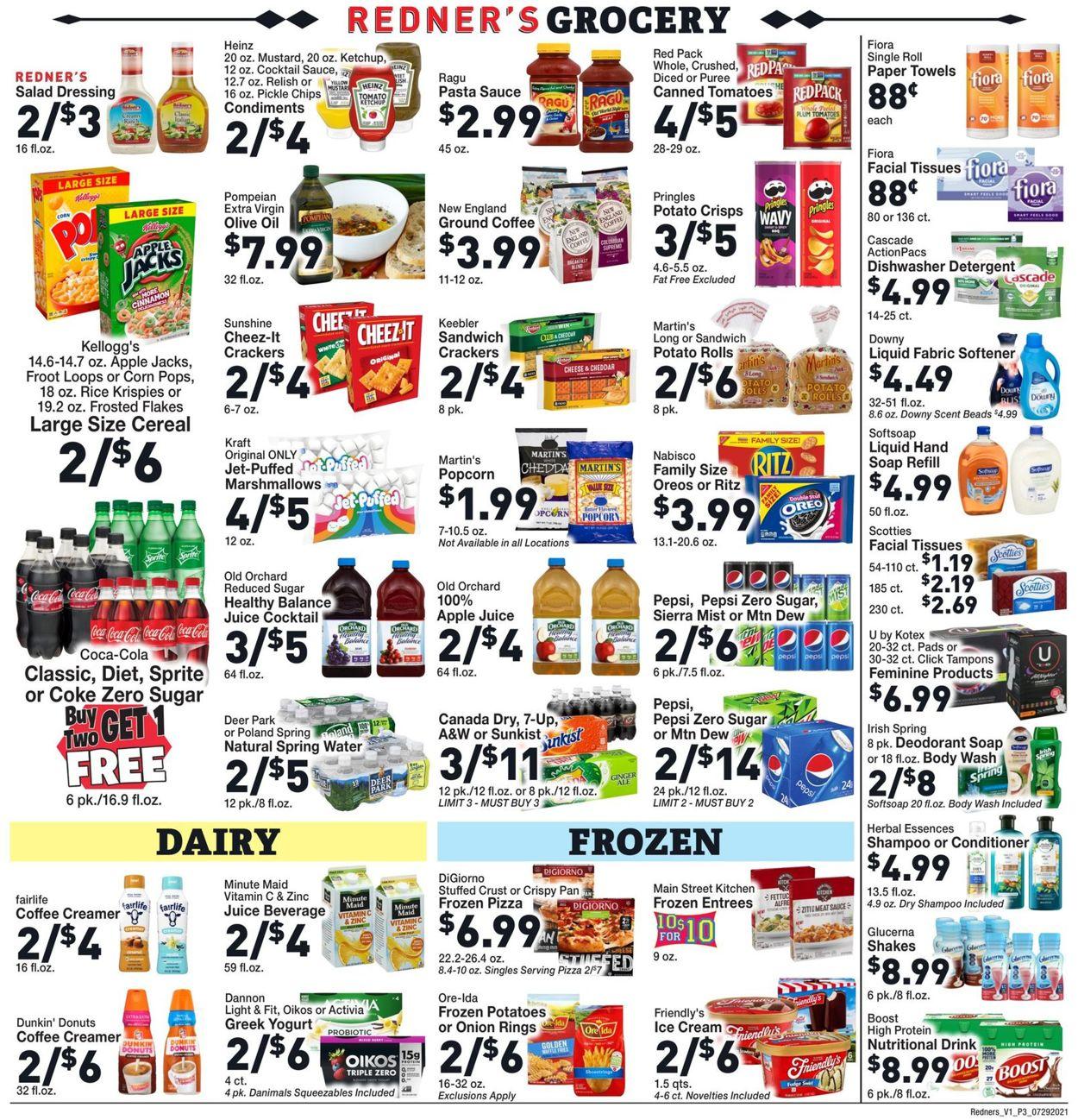 Redner's Warehouse Market Weekly Ad Circular - valid 07/29-08/04/2021 (Page 5)