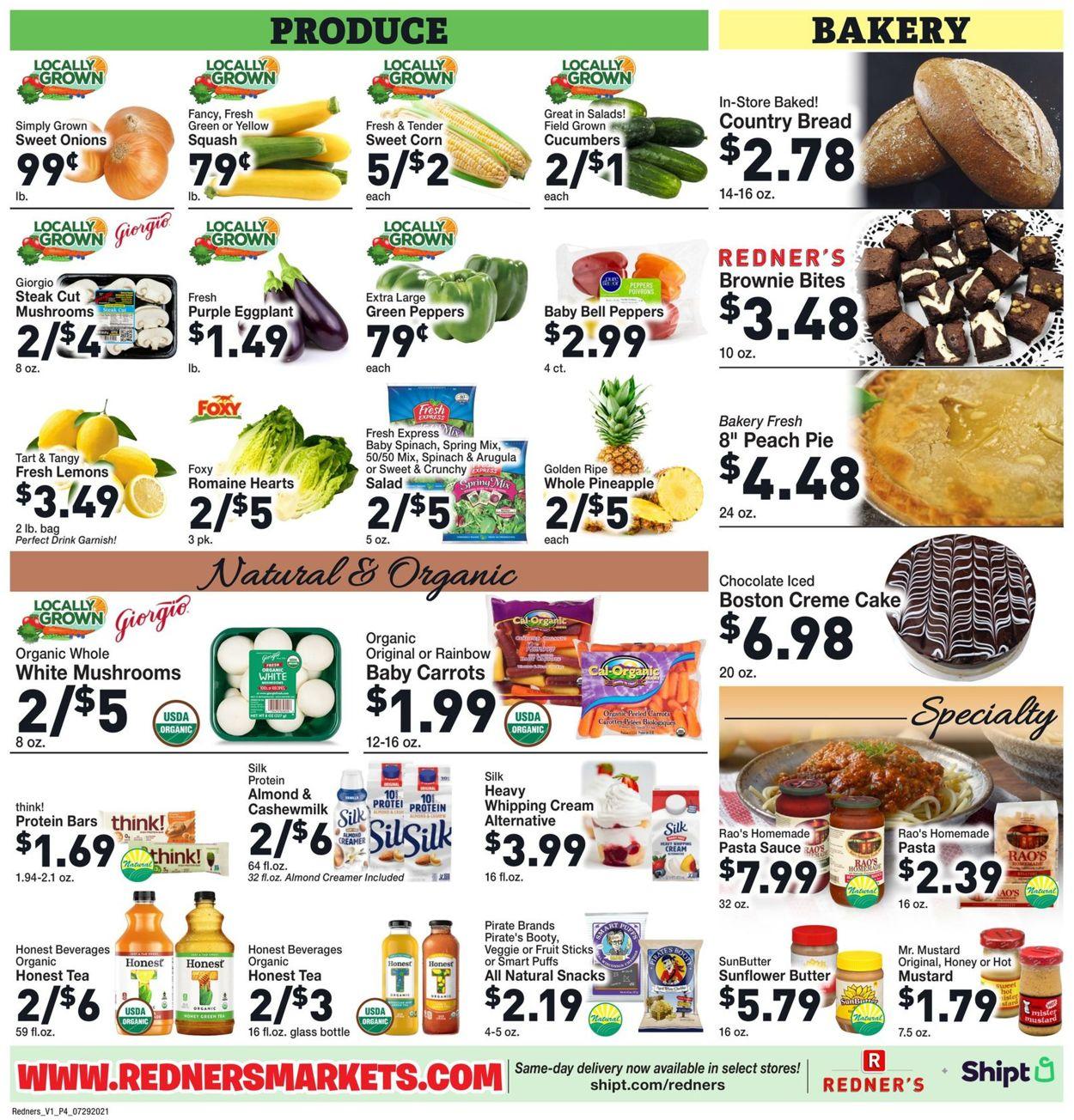 Redner's Warehouse Market Weekly Ad Circular - valid 07/29-08/04/2021 (Page 6)