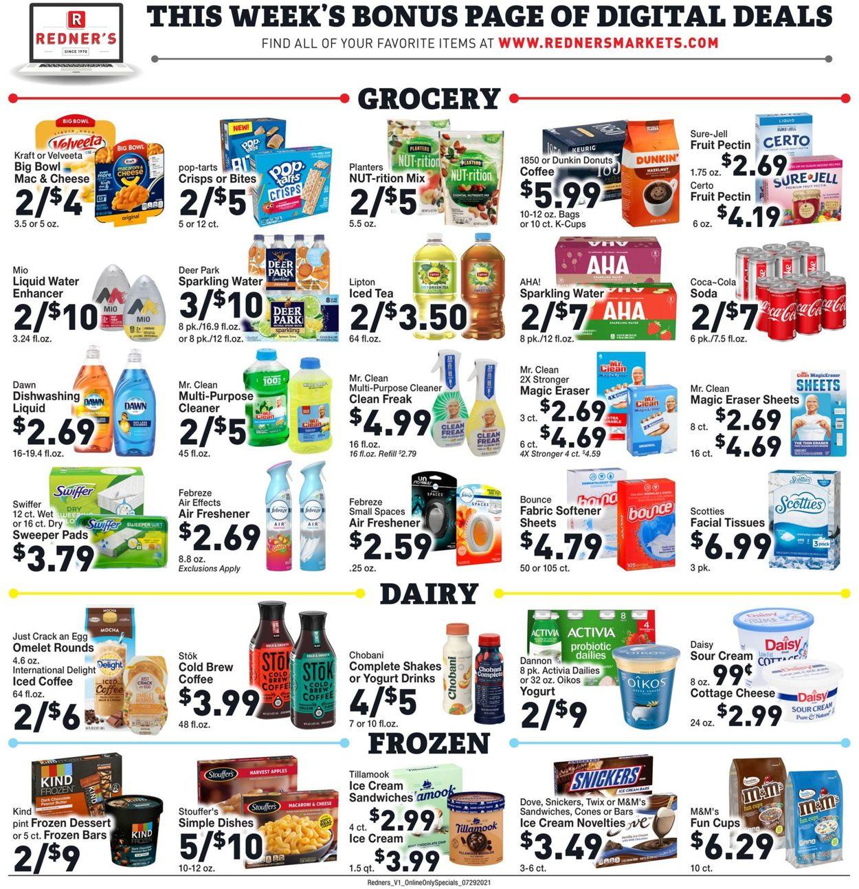 Redner's Warehouse Market Weekly Ad Circular - valid 07/29-08/04/2021 (Page 7)