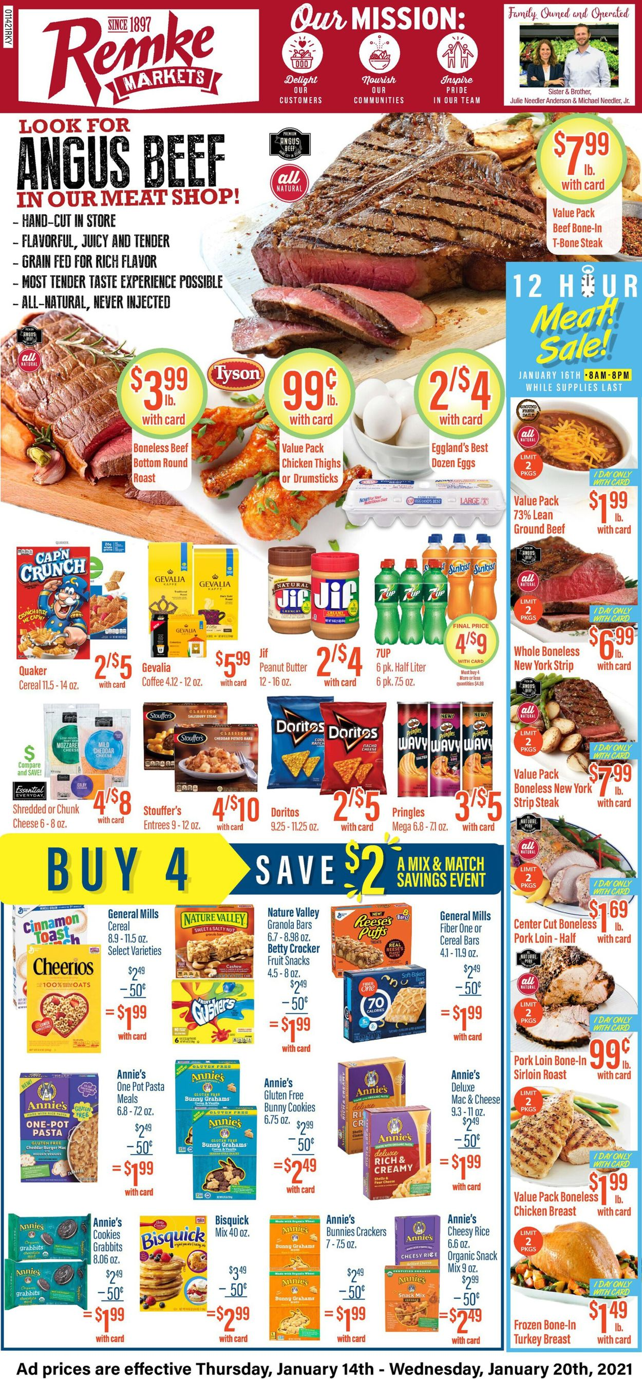 Remke Markets Weekly Ad Circular - valid 01/14-01/20/2021