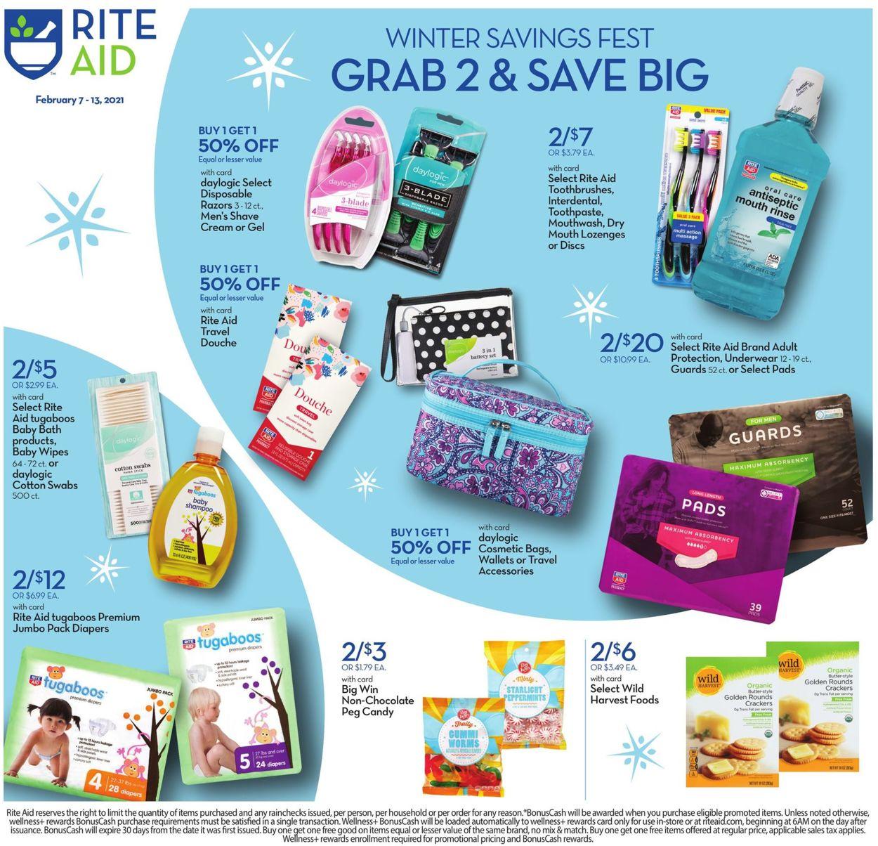 Rite Aid Weekly Ad Circular - valid 02/07-02/13/2021