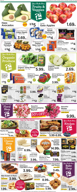 Roche Bros. Supermarkets Weekly Ad Circular - valid 10/23-10/29/2020 (Page 3)