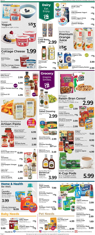 Roche Bros. Supermarkets Weekly Ad Circular - valid 07/16-07/22/2021 (Page 4)