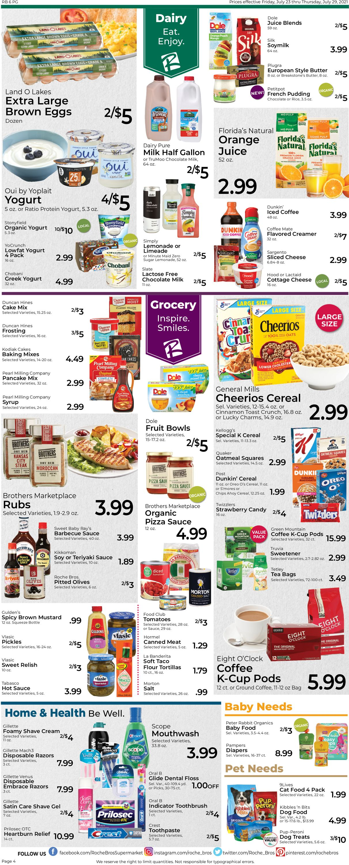 Roche Bros. Supermarkets Weekly Ad Circular - valid 07/23-07/29/2021 (Page 4)