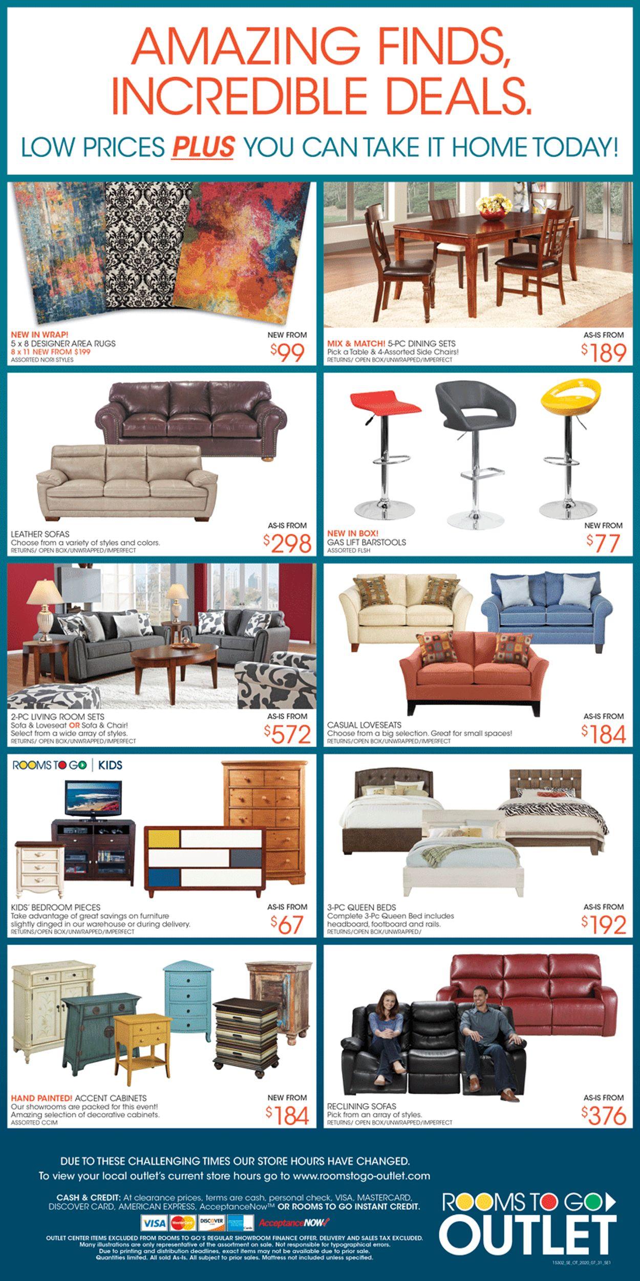 Rooms To Go Weekly Ad Circular - valid 09/03-09/09/2020