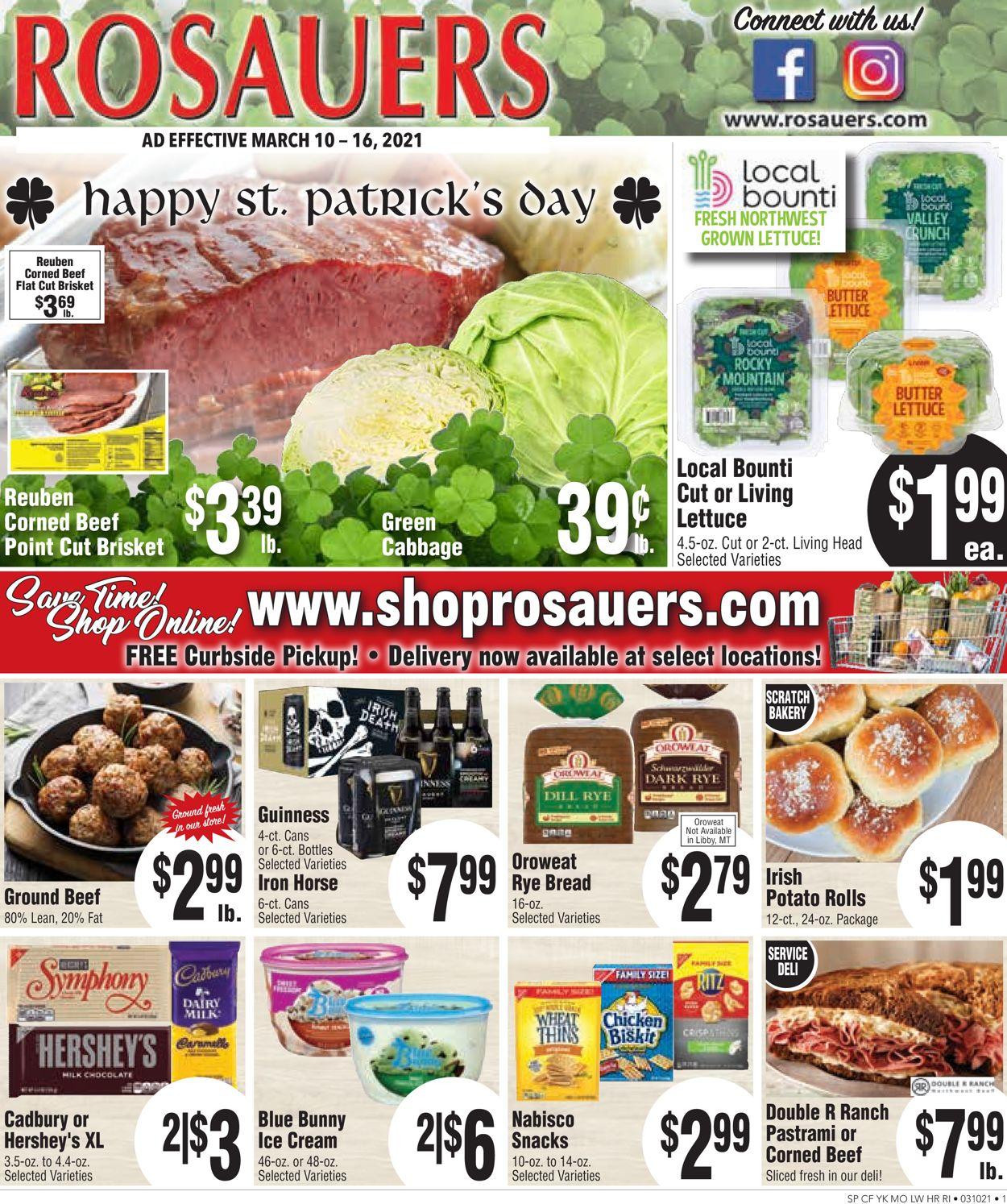 Rosauers Weekly Ad Circular - valid 03/10-03/16/2021