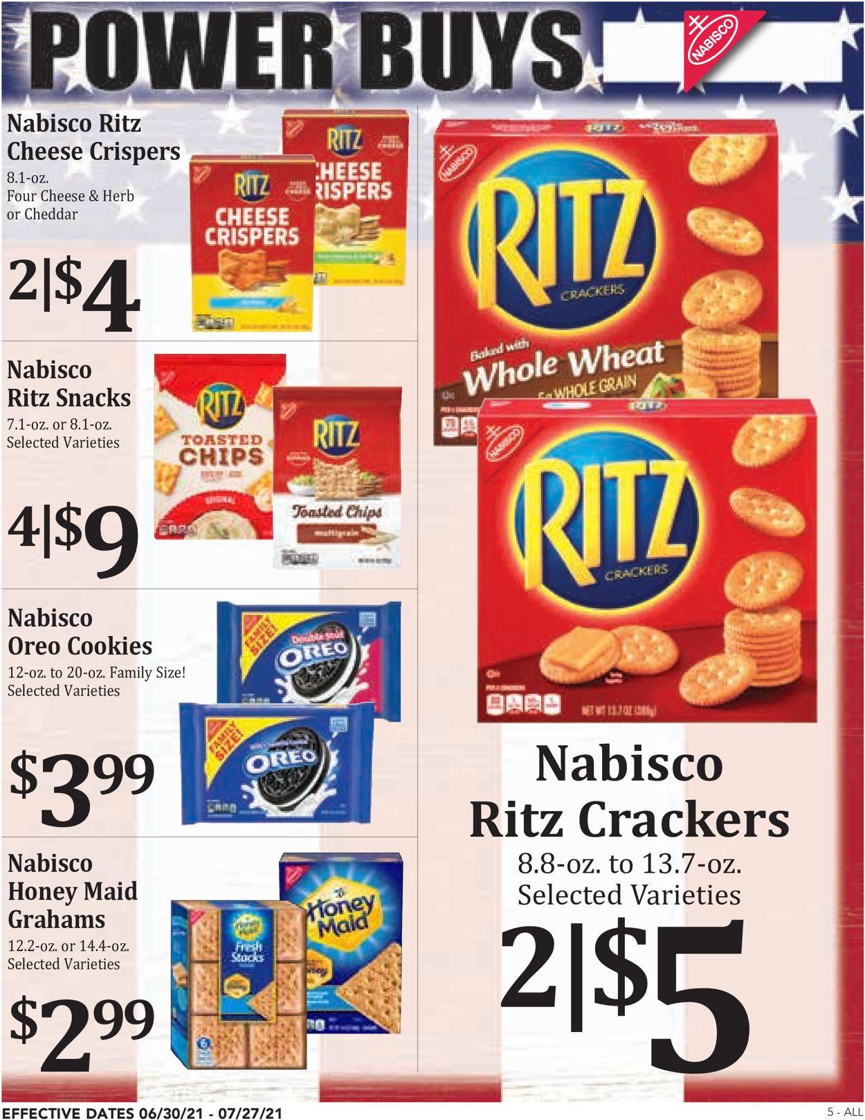 Rosauers Weekly Ad Circular - valid 06/30-07/27/2021 (Page 5)