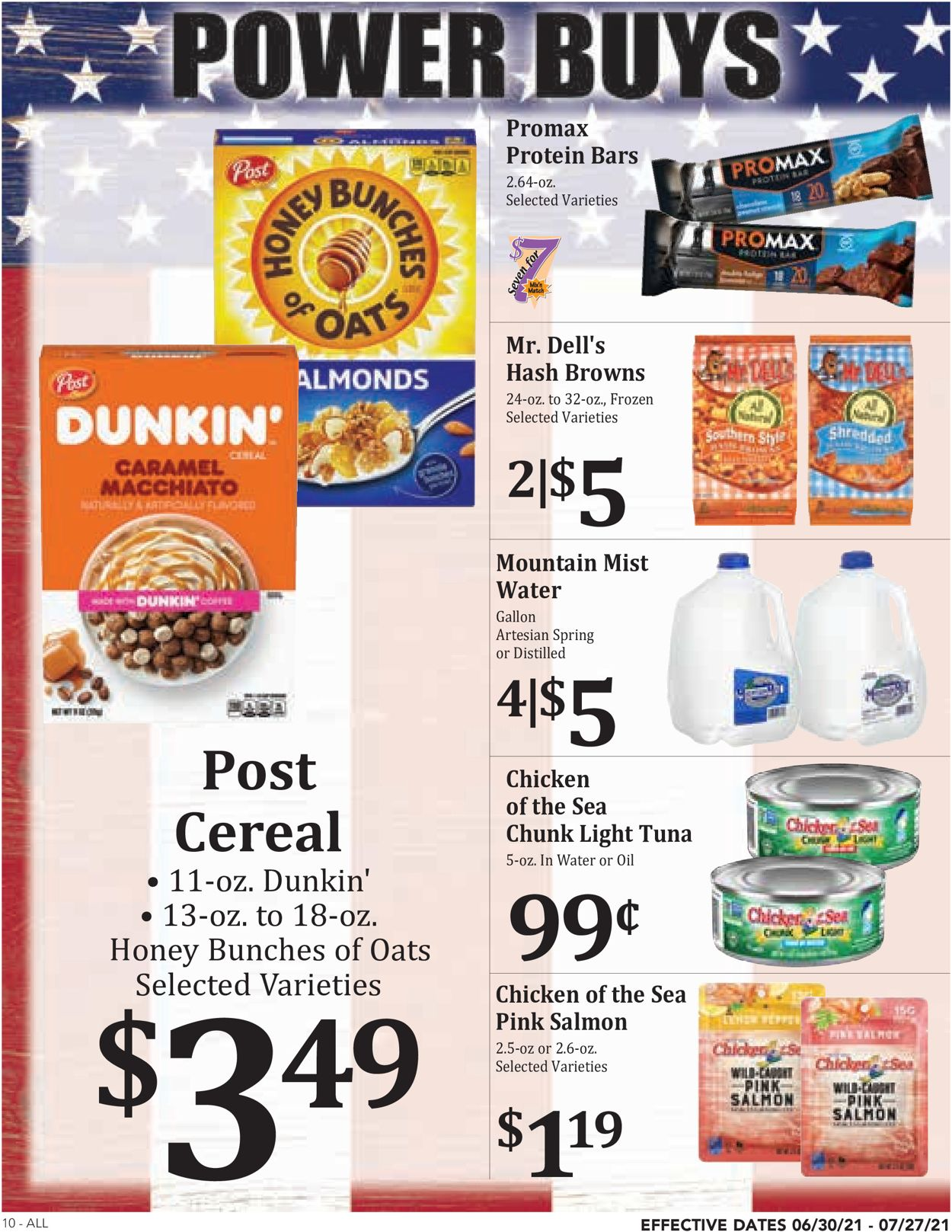 Rosauers Weekly Ad Circular - valid 06/30-07/27/2021 (Page 10)
