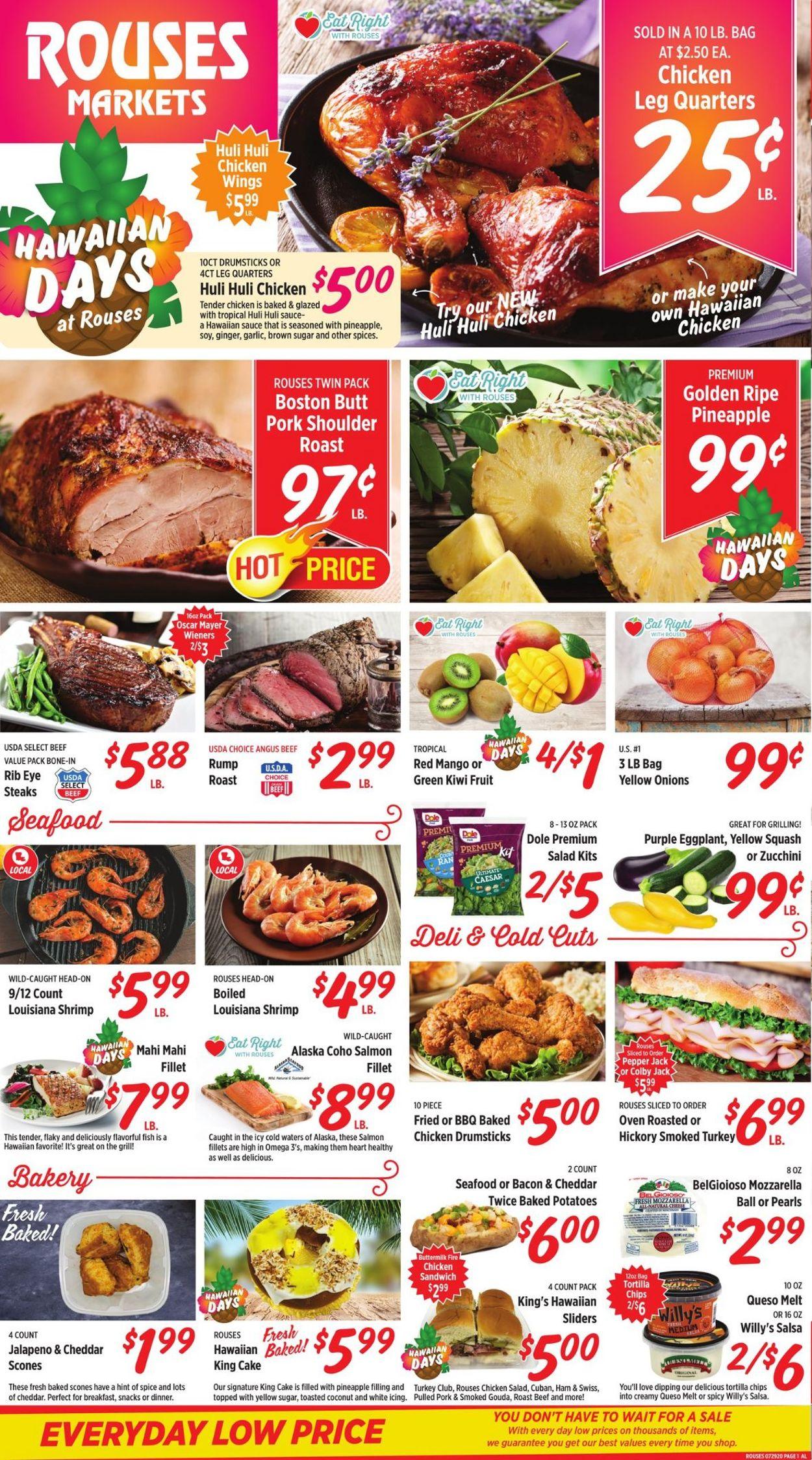 Rouses Weekly Ad Circular - valid 07/29-08/05/2020