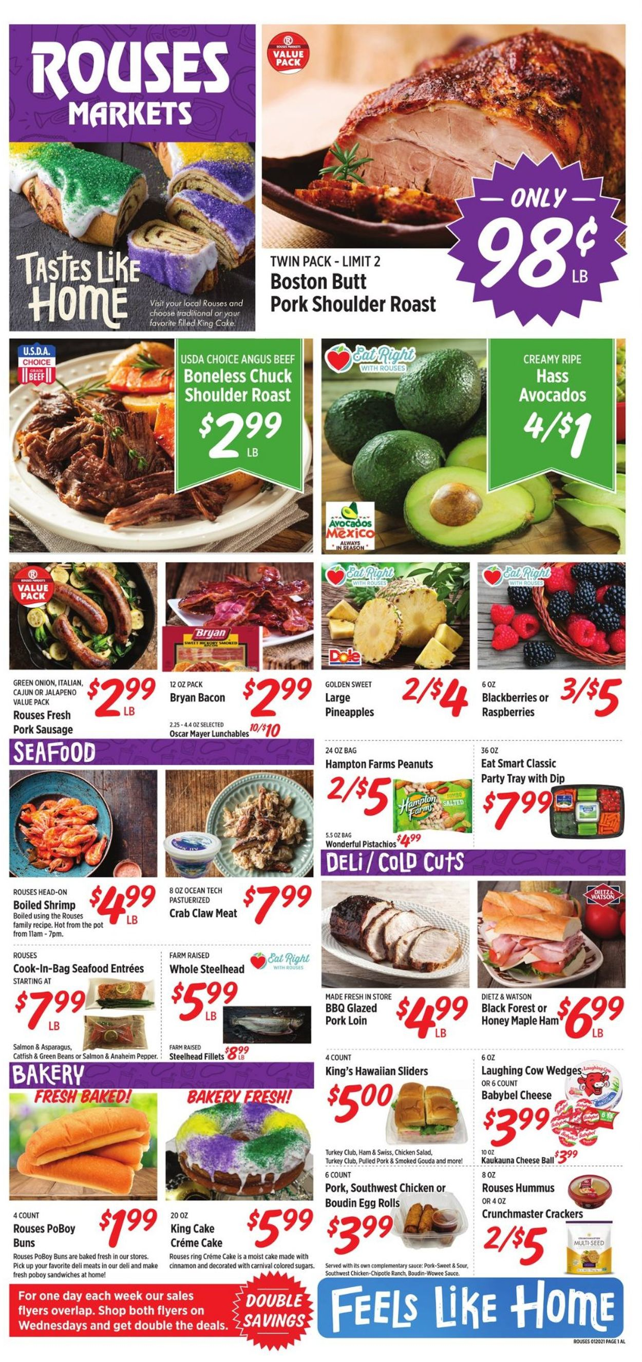 Rouses Weekly Ad Circular - valid 01/20-01/27/2021