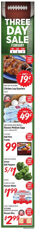 Rouses Weekly Ad Circular - valid 02/03-02/10/2021