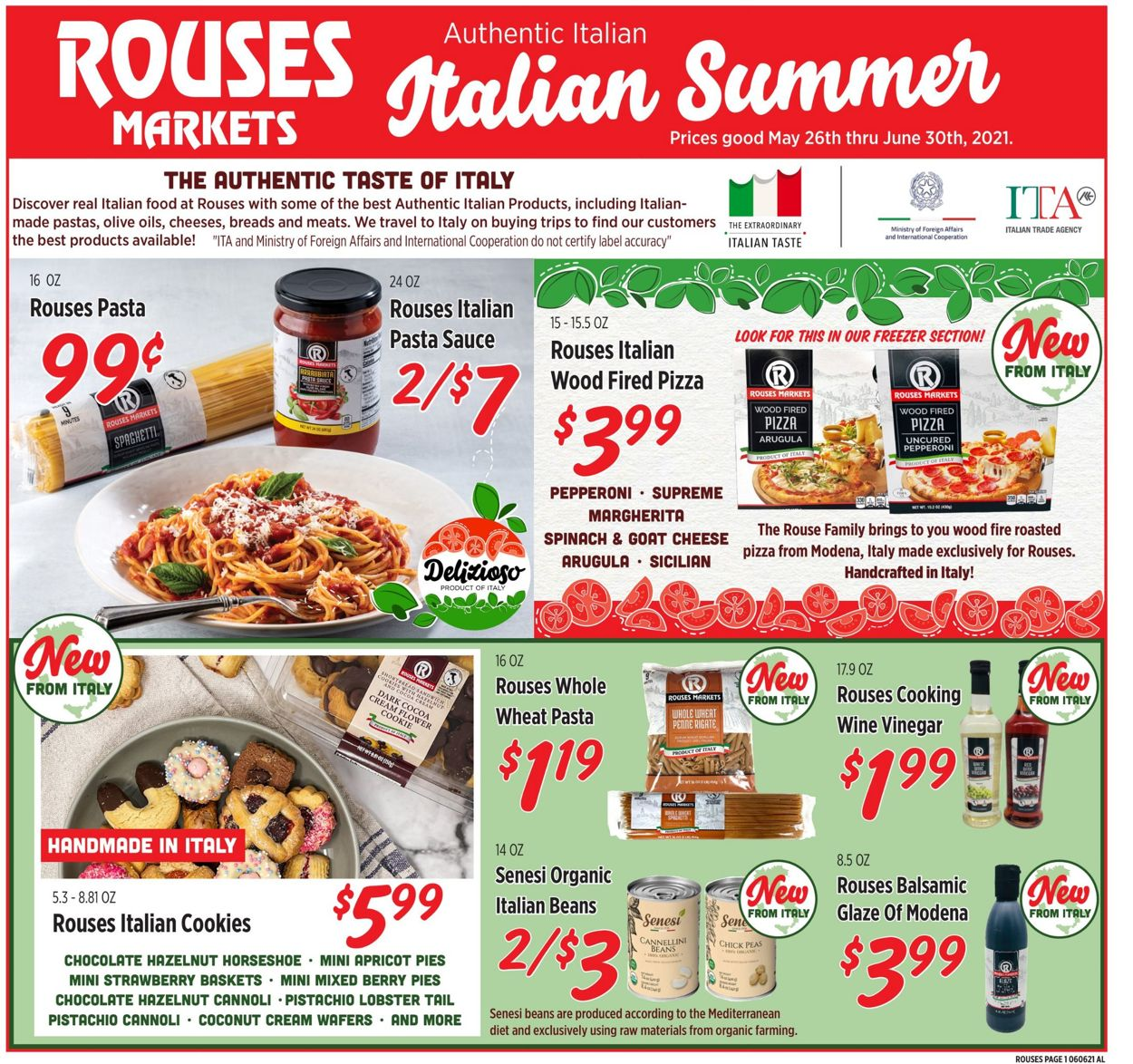 Rouses Weekly Ad Circular - valid 05/26-06/30/2021