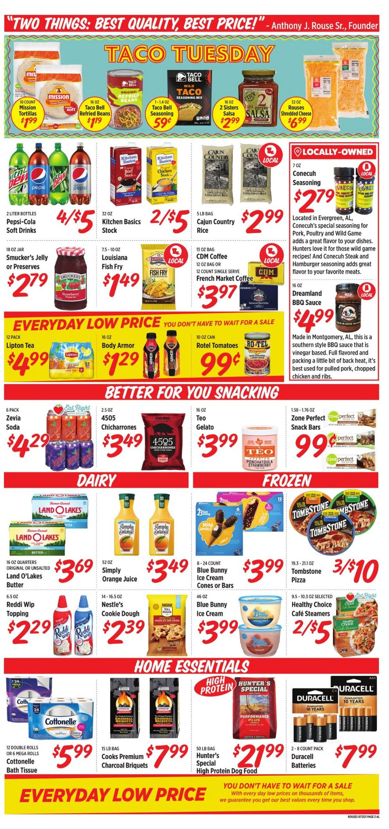Rouses Weekly Ad Circular - valid 07/21-07/28/2021 (Page 3)