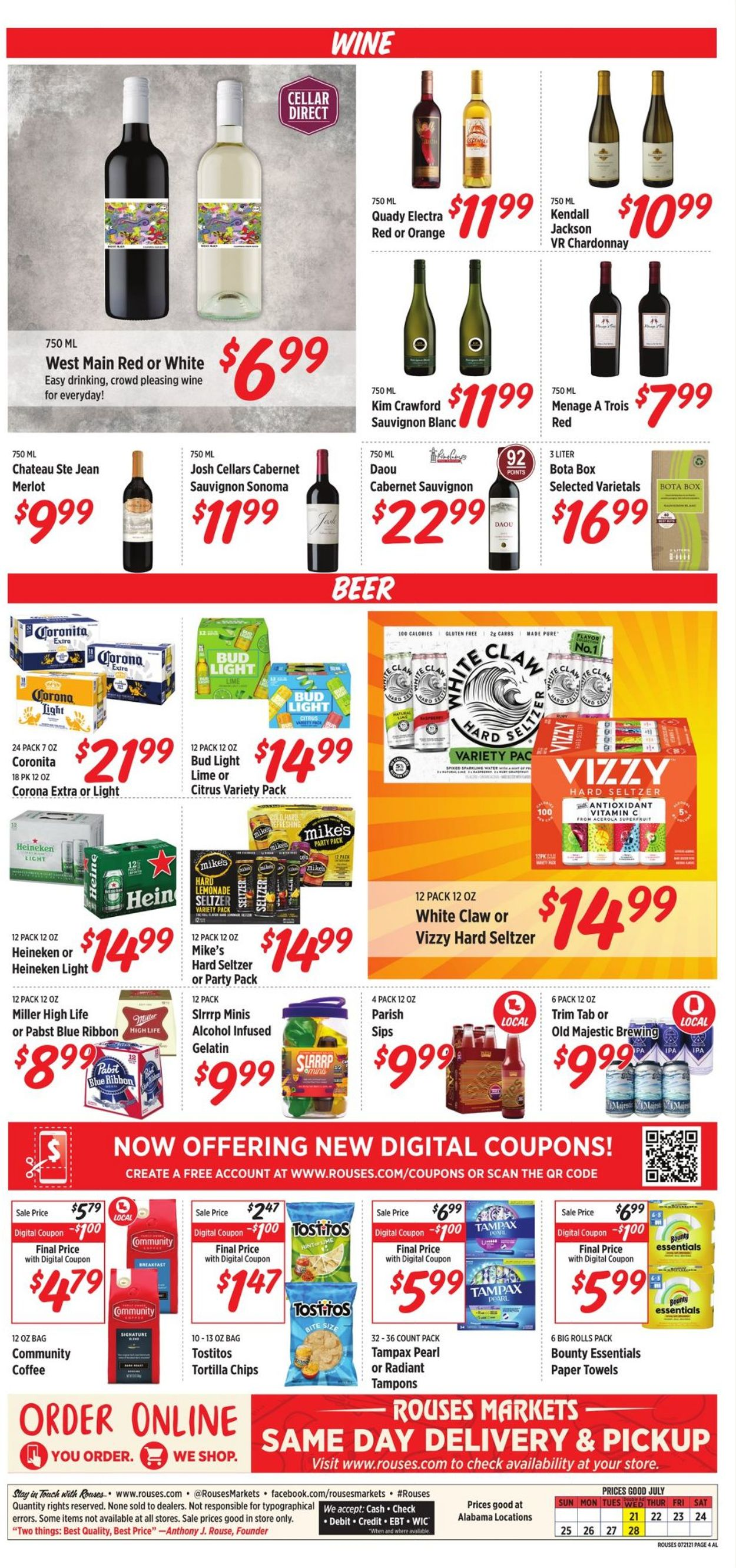 Rouses Weekly Ad Circular - valid 07/21-07/28/2021 (Page 4)
