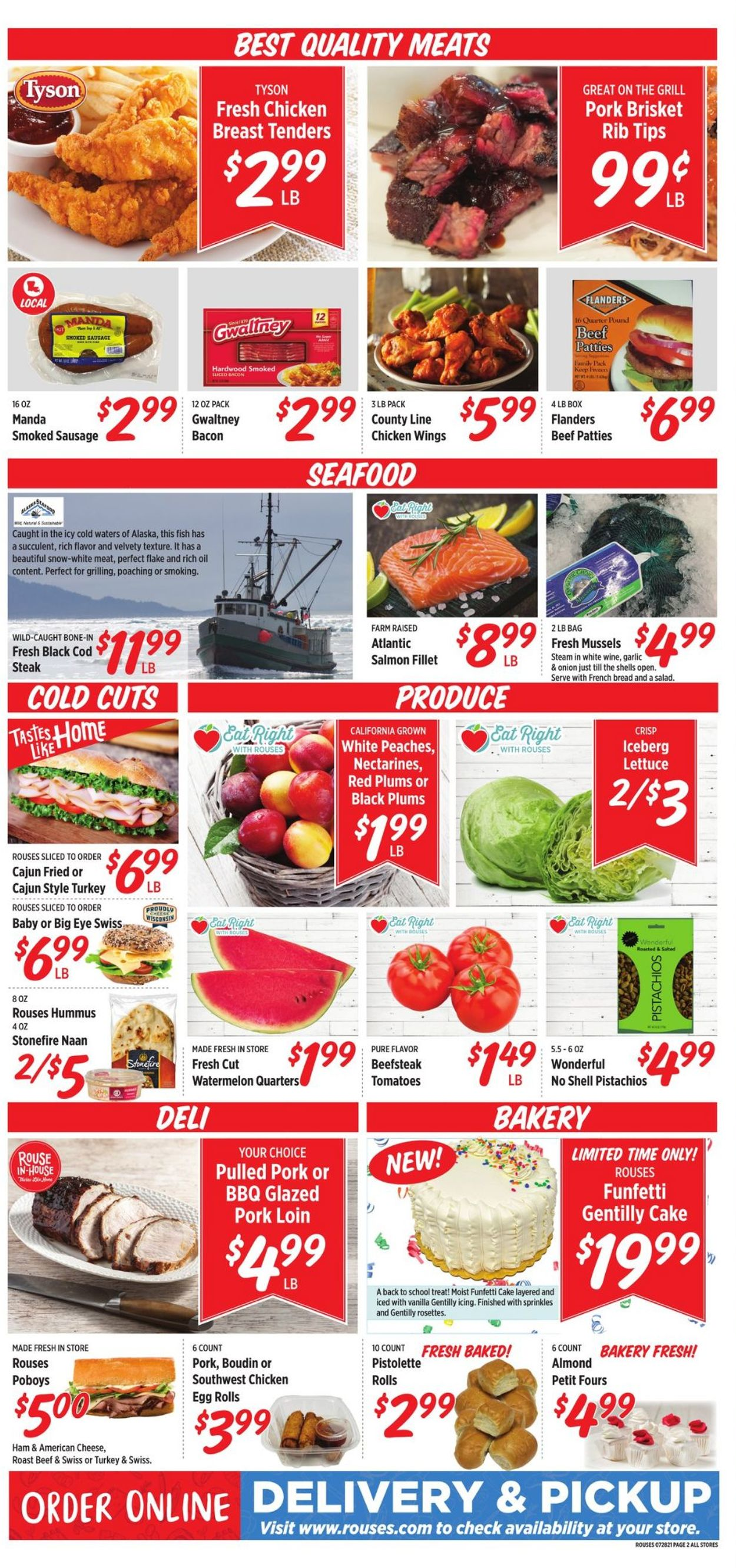 Rouses Weekly Ad Circular - valid 07/28-08/04/2021 (Page 4)