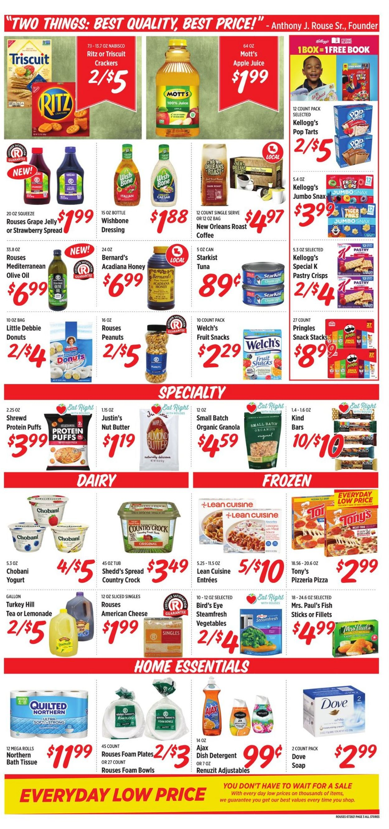 Rouses Weekly Ad Circular - valid 07/28-08/04/2021 (Page 5)