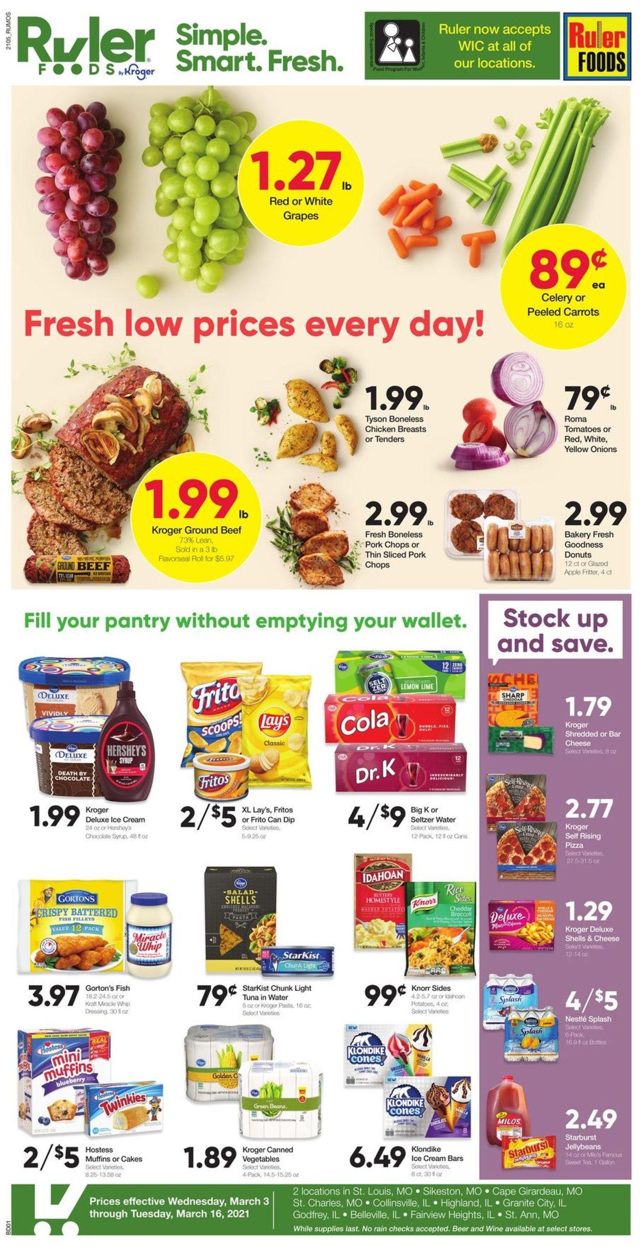 Ruler Foods Weekly Ad Circular - valid 03/03-03/16/2021