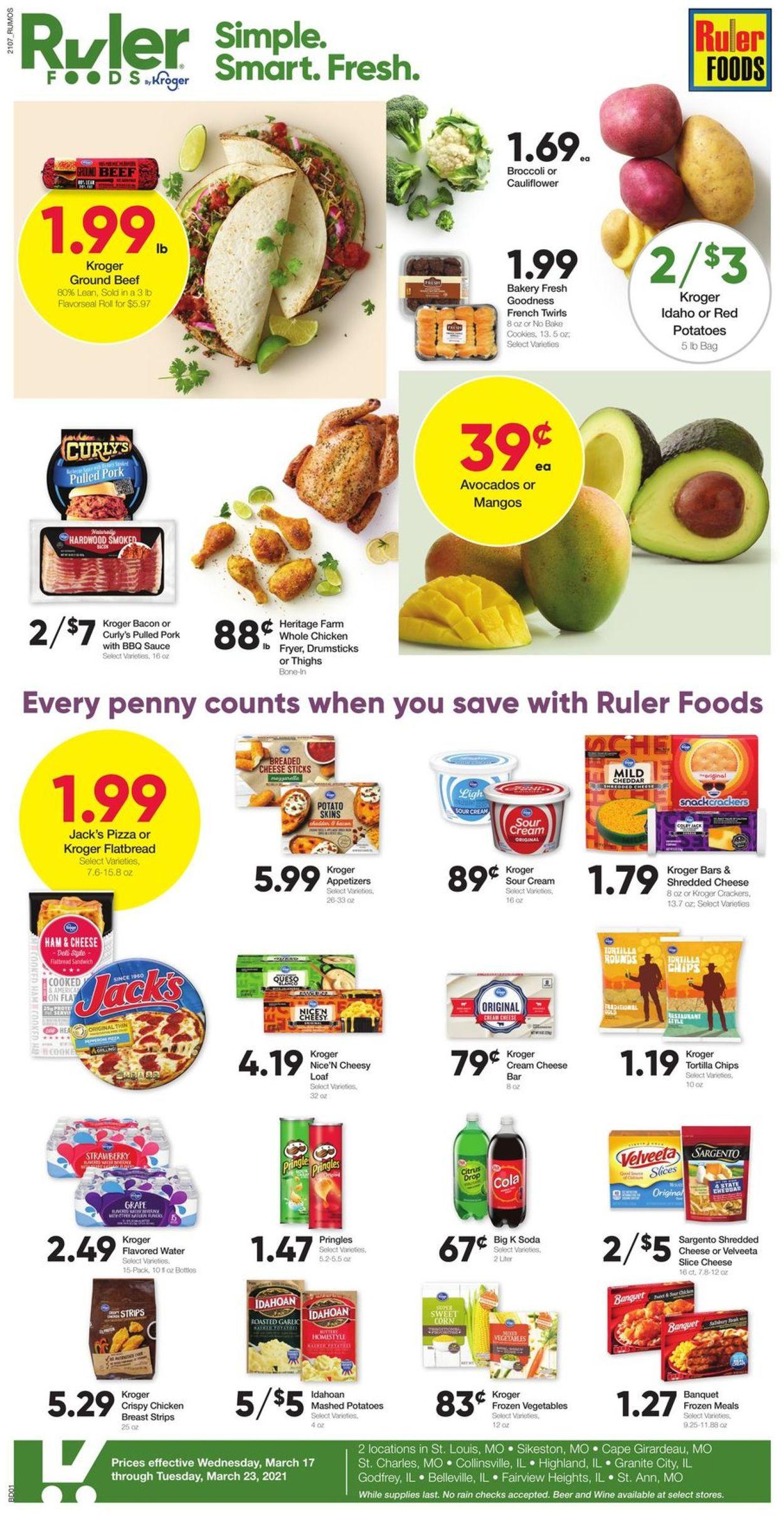 Ruler Foods Weekly Ad Circular - valid 03/17-03/23/2021