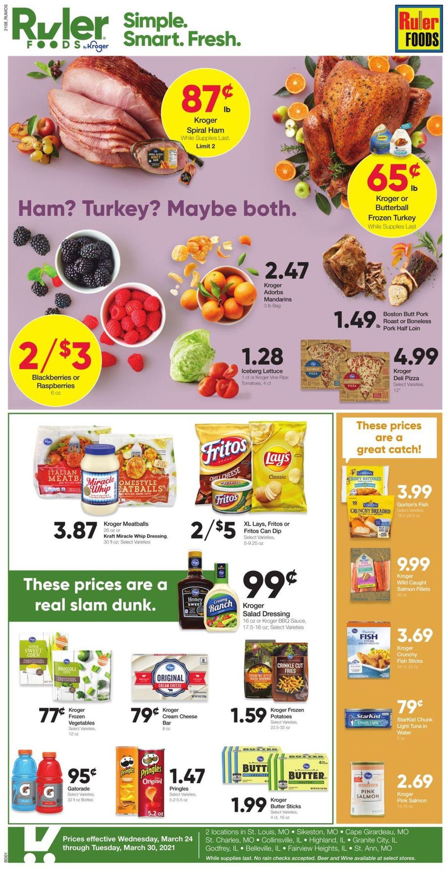 Ruler Foods Weekly Ad Circular - valid 03/24-03/30/2021