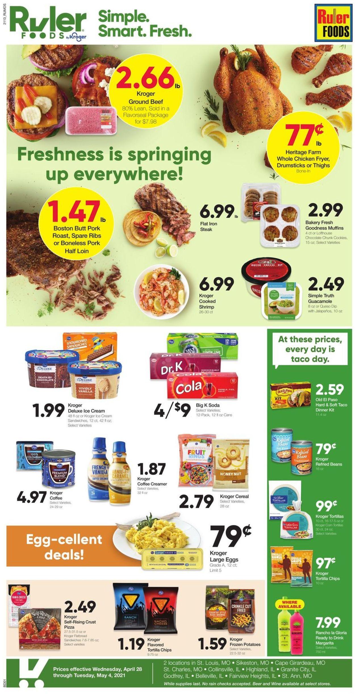 Ruler Foods Weekly Ad Circular - valid 04/28-05/04/2021