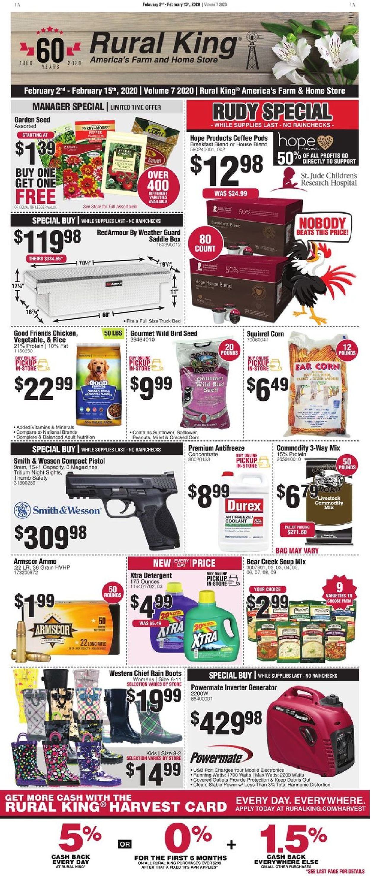 Rural King Weekly Ad Circular - valid 02/02-02/15/2020