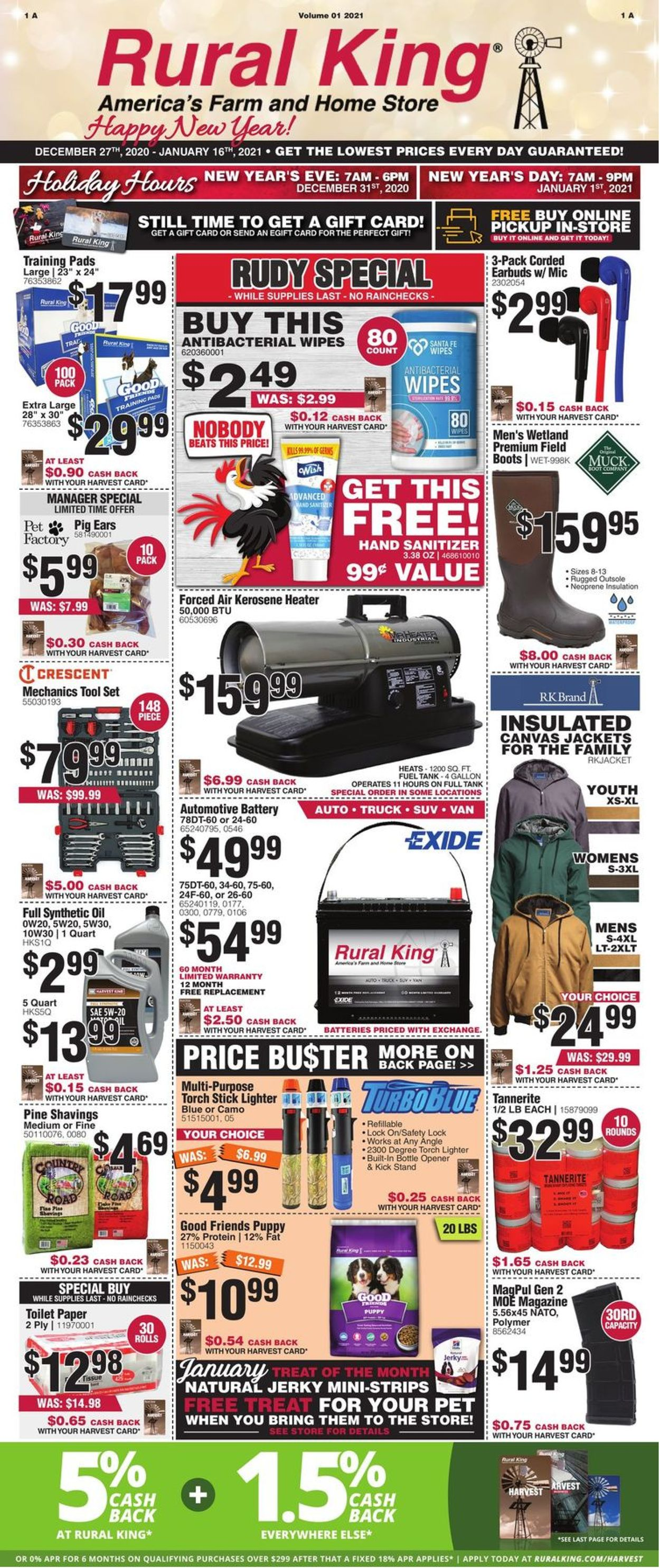 Rural King Weekly Ad Circular - valid 12/27-01/16/2021
