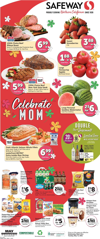 Safeway Weekly Ad Circular - valid 05/06-05/12/2020
