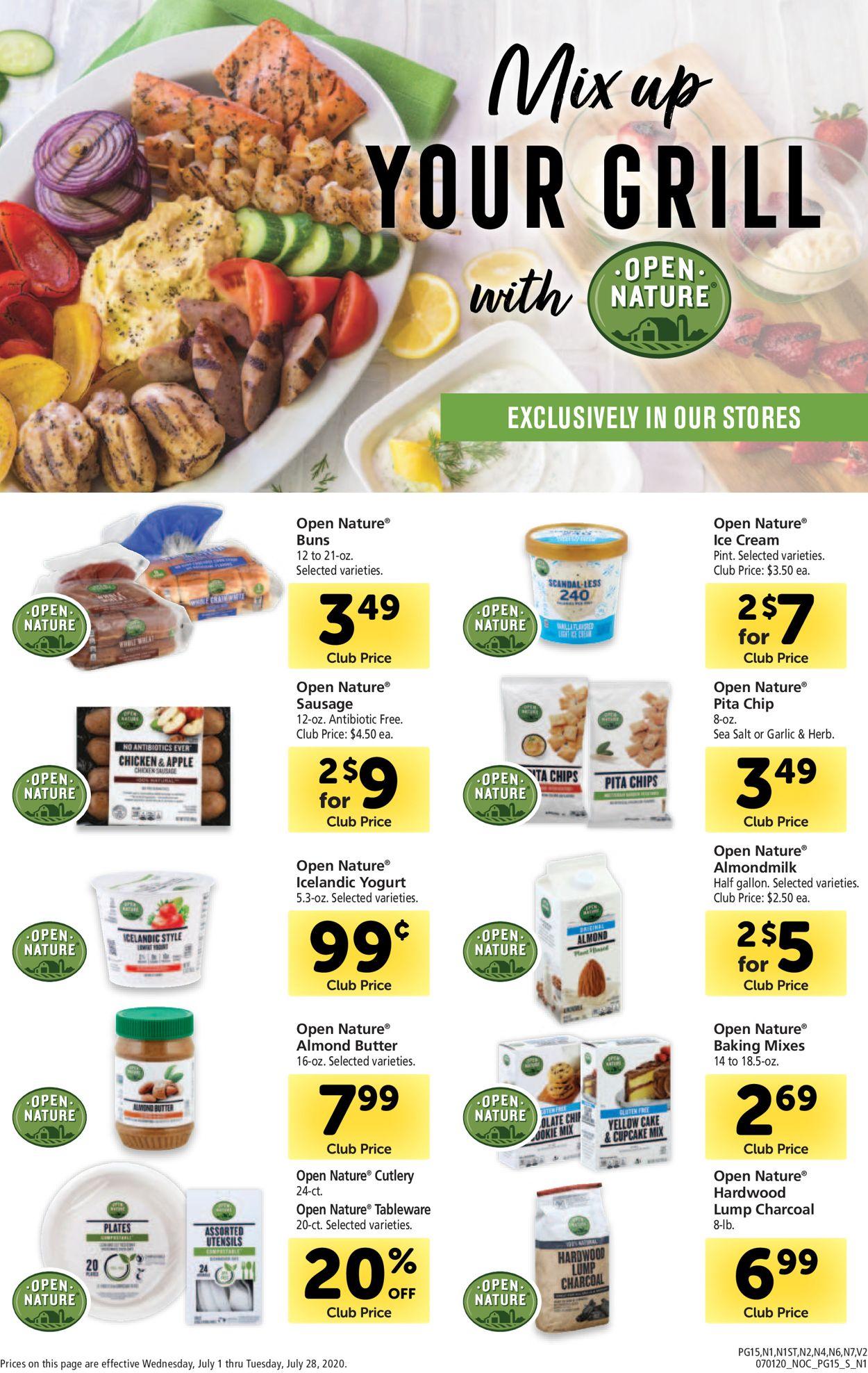 Safeway Weekly Ad Circular - valid 07/01-07/28/2020 (Page 15)