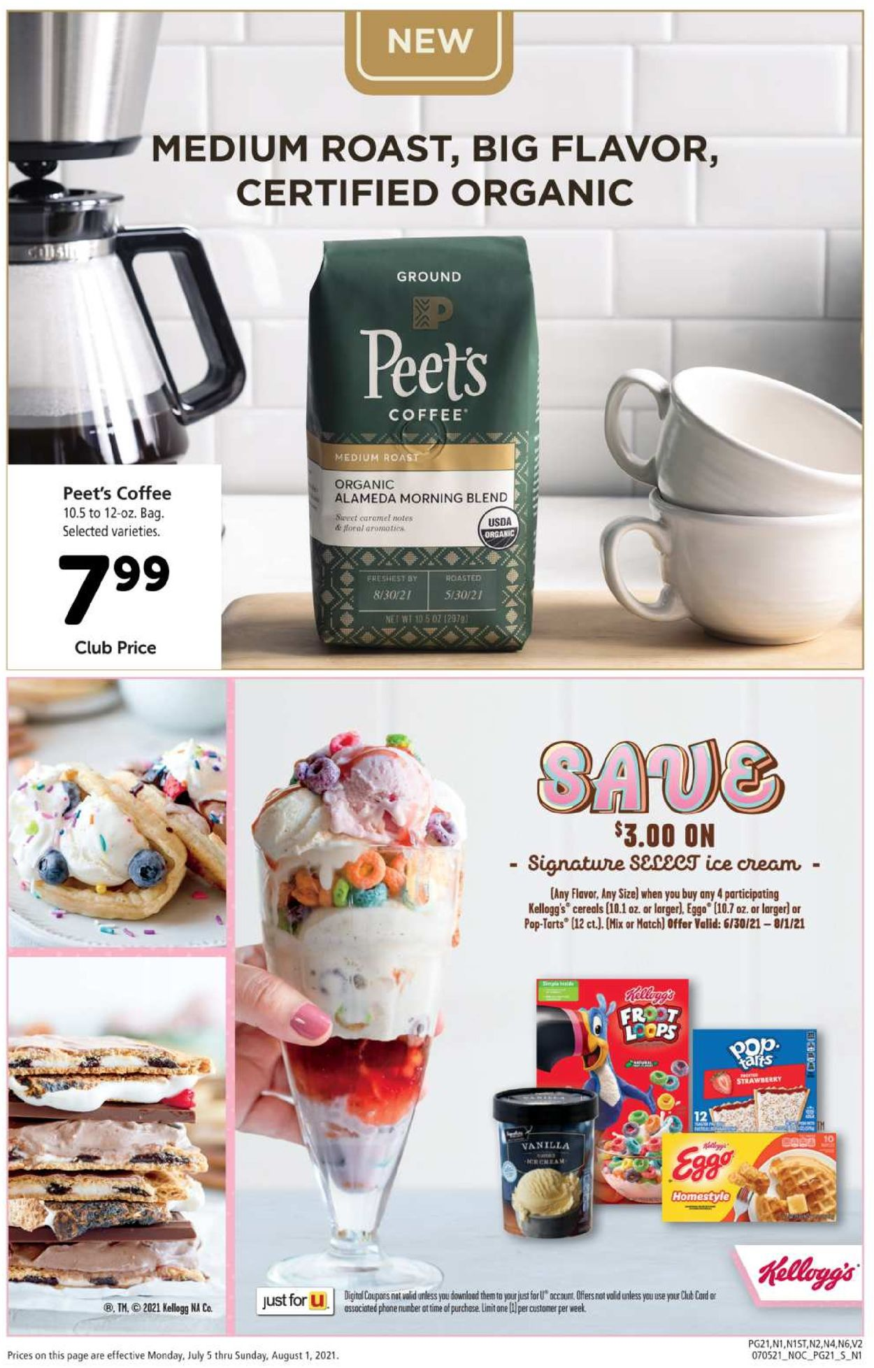 Safeway Weekly Ad Circular - valid 07/05-08/01/2021 (Page 21)
