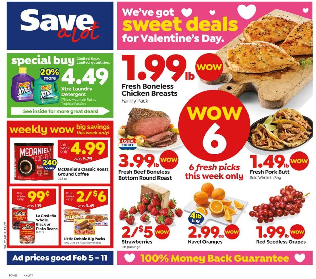 Save a Lot Weekly Ad Circular - valid 02/05-02/11/2020