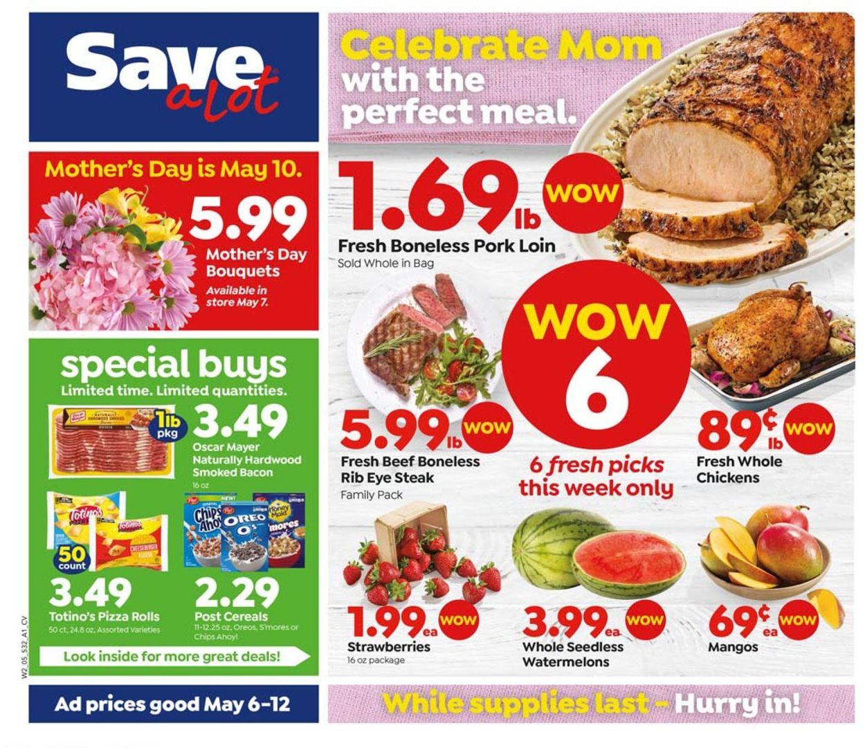 Save a Lot Weekly Ad Circular - valid 05/06-05/12/2020