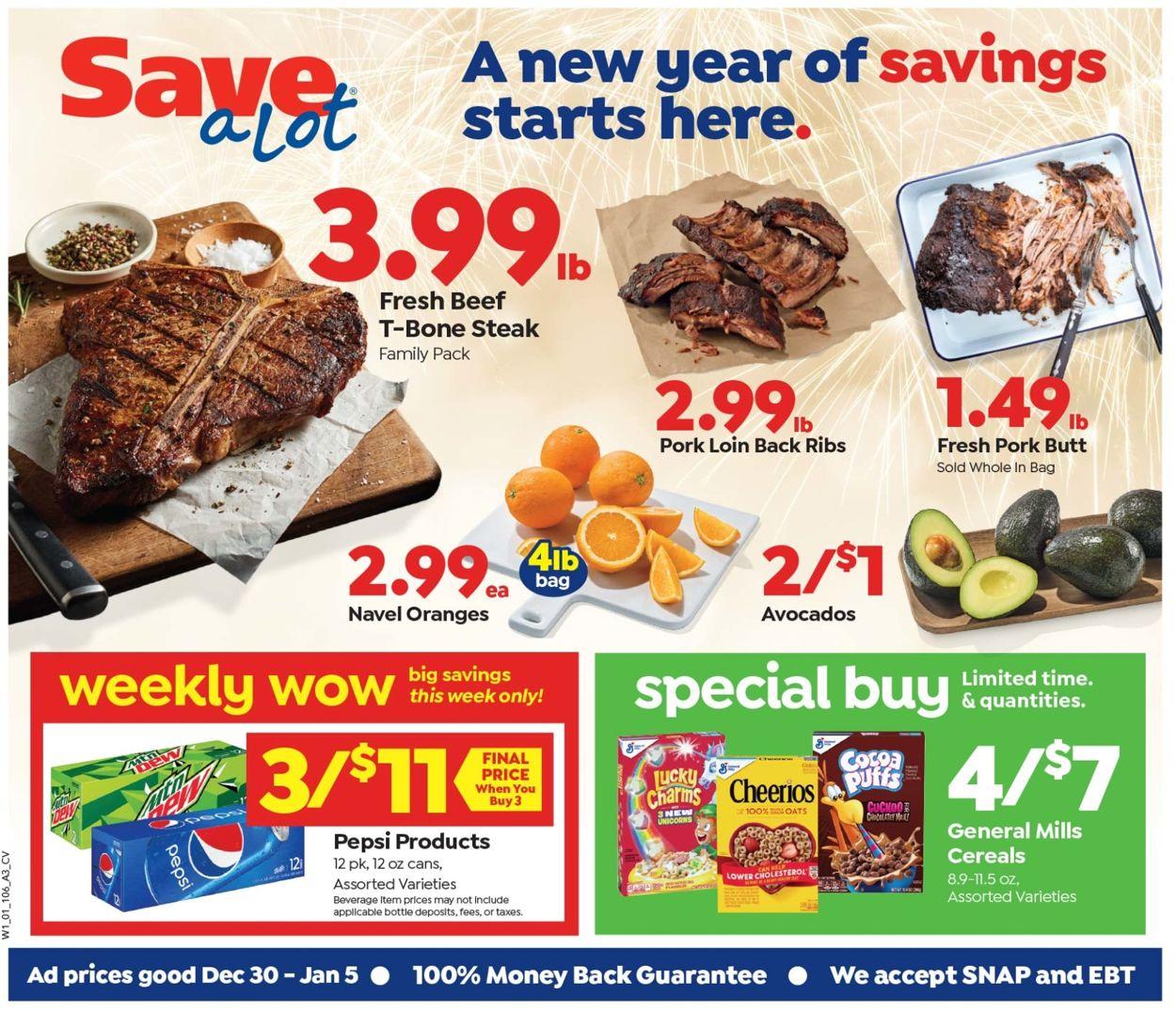 Save a Lot Weekly Ad Circular - valid 12/30-01/05/2021