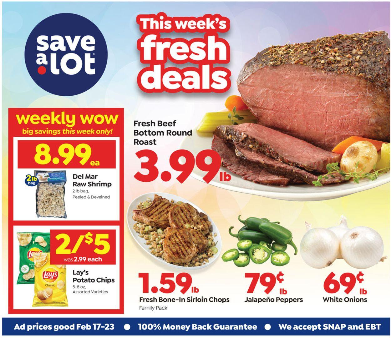 Save a Lot Weekly Ad Circular - valid 02/17-02/23/2021