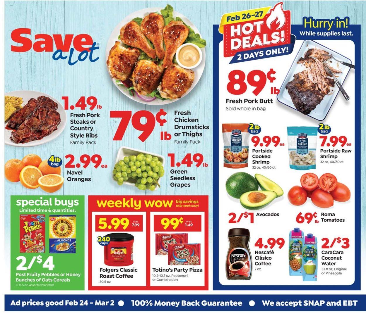 Save a Lot Weekly Ad Circular - valid 02/24-03/02/2021