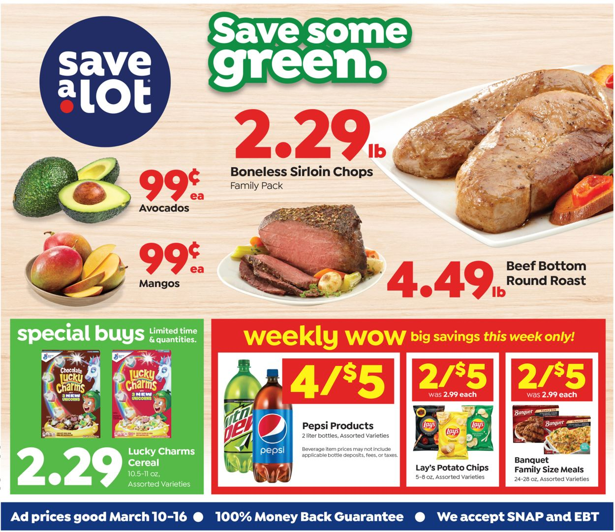 Save a Lot Weekly Ad Circular - valid 03/10-03/16/2021