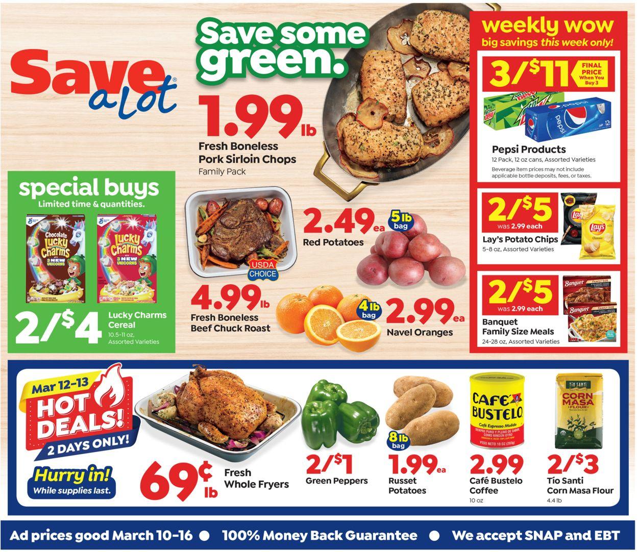 Save a Lot Weekly Ad Circular - valid 03/10-03/16/2021