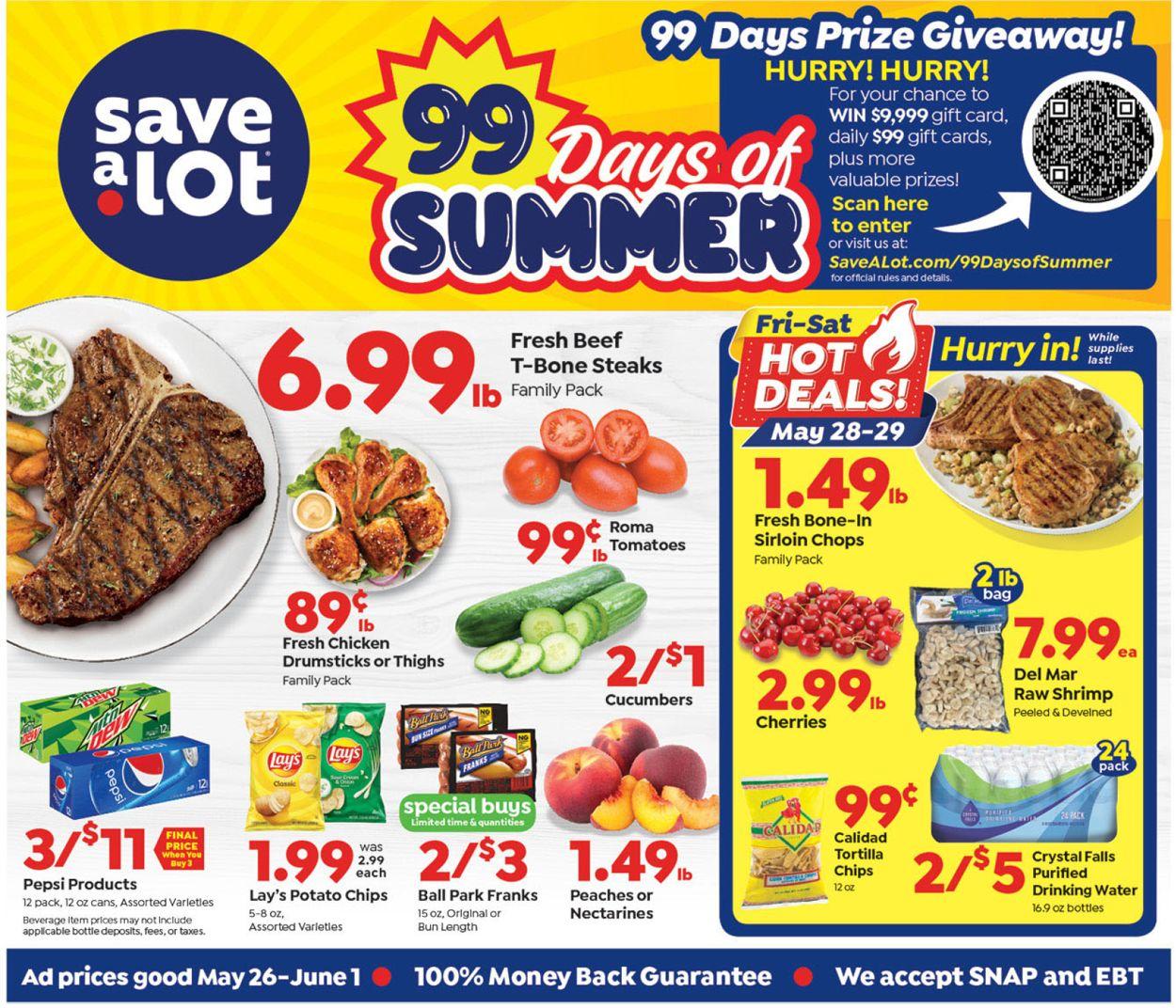 Save a Lot Weekly Ad Circular - valid 05/26-06/01/2021