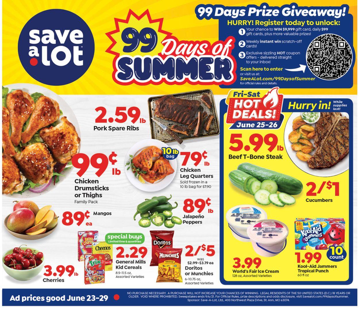 Save a Lot Weekly Ad Circular - valid 06/23-06/29/2021