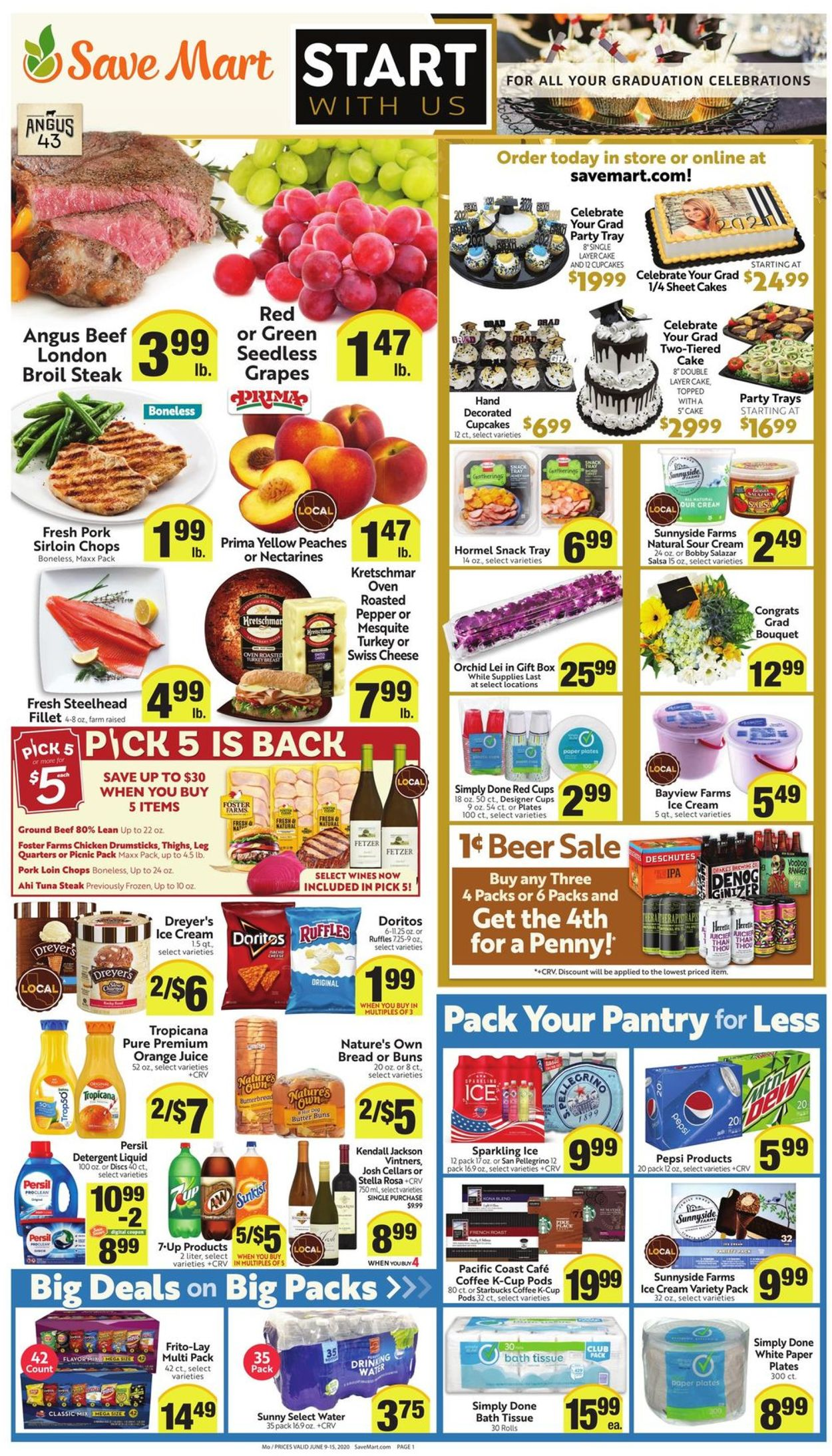 Save Mart Weekly Ad Circular - valid 06/09-06/15/2021