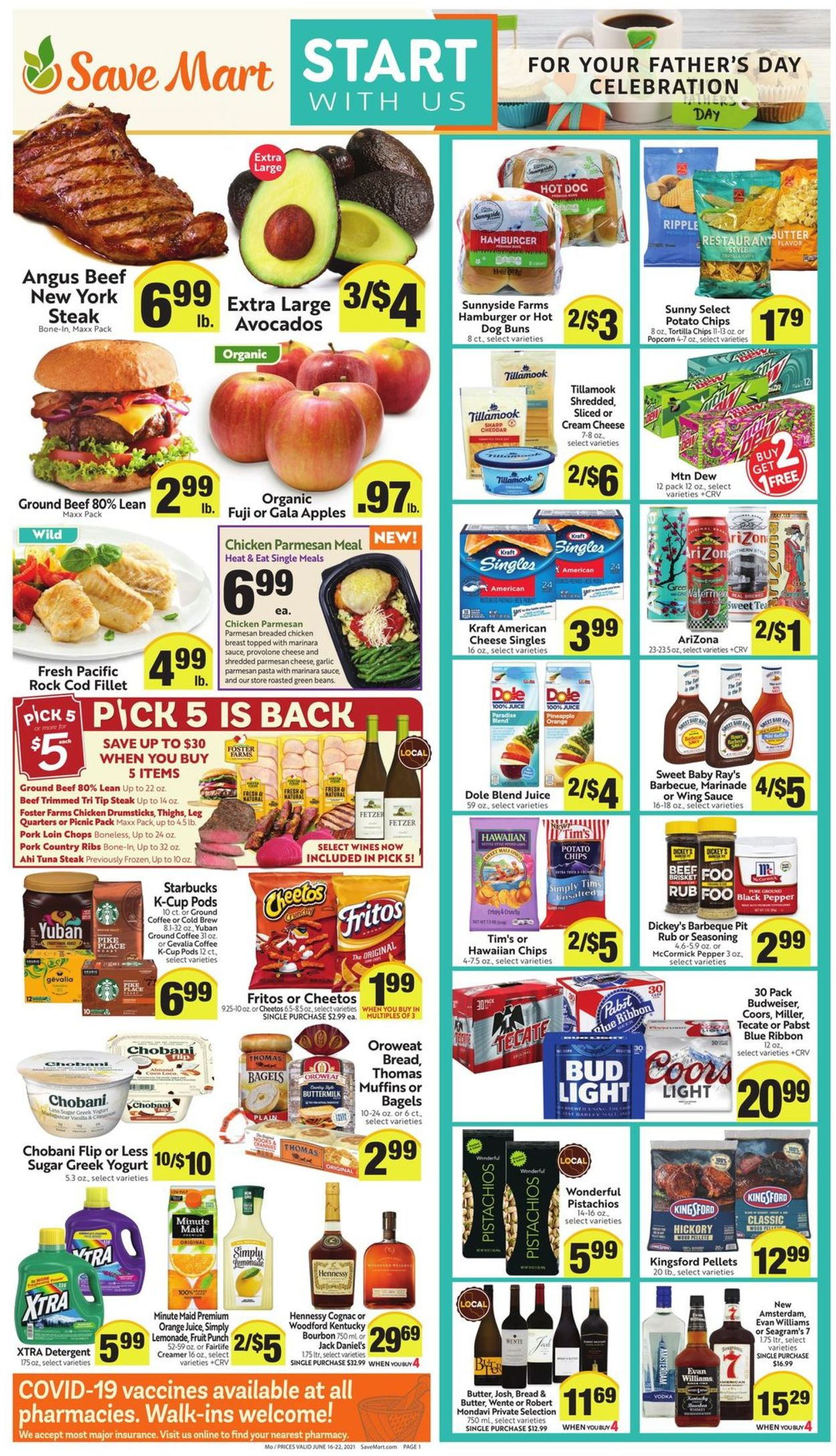 Save Mart Weekly Ad Circular - valid 06/16-06/22/2021