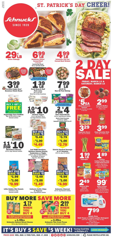 Schnucks Weekly Ad Circular - valid 03/11-03/17/2020