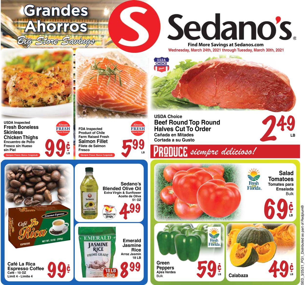 Sedano's Weekly Ad Circular - valid 03/24-03/30/2021