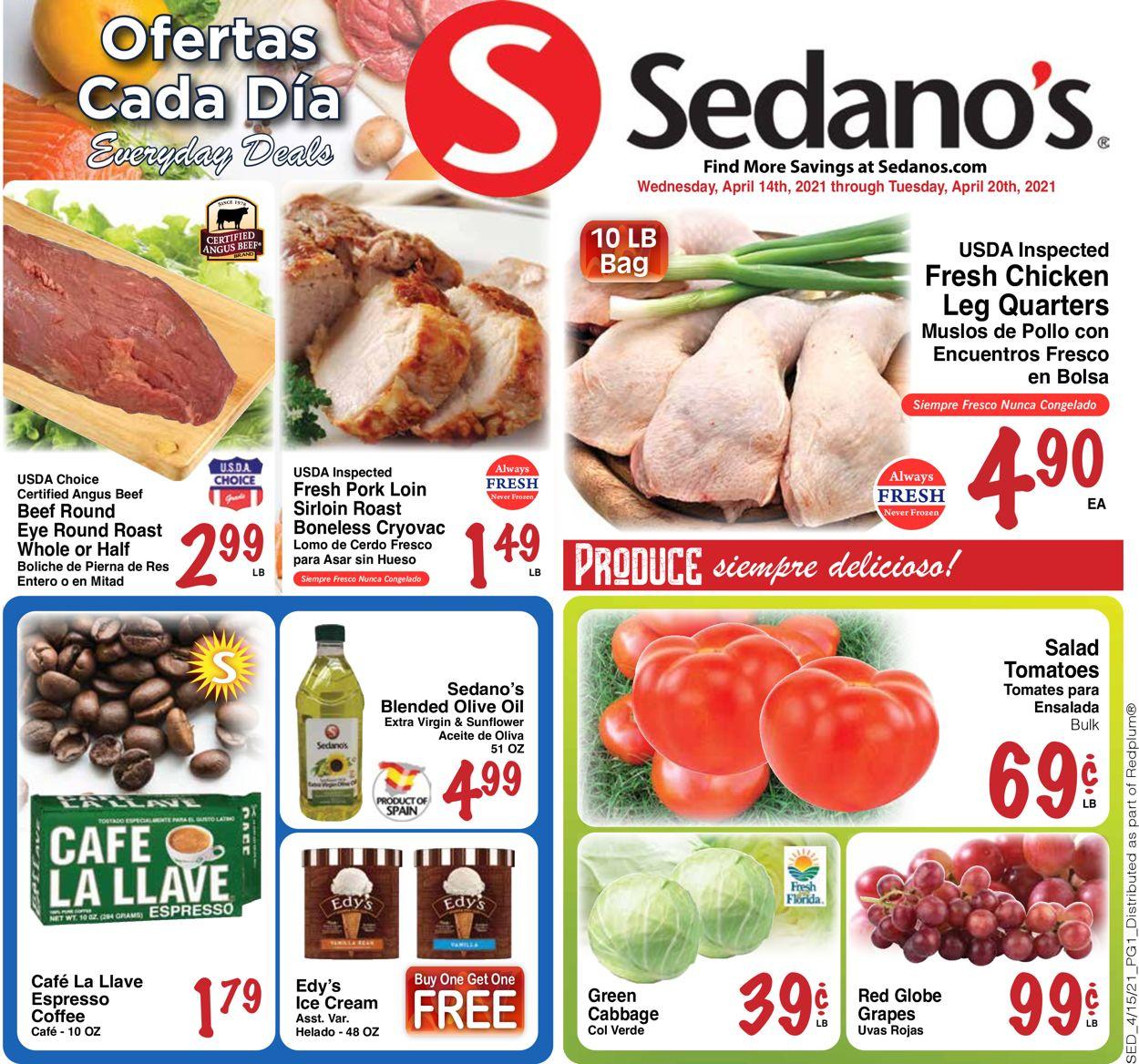Sedano's Weekly Ad Circular - valid 04/14-04/20/2021