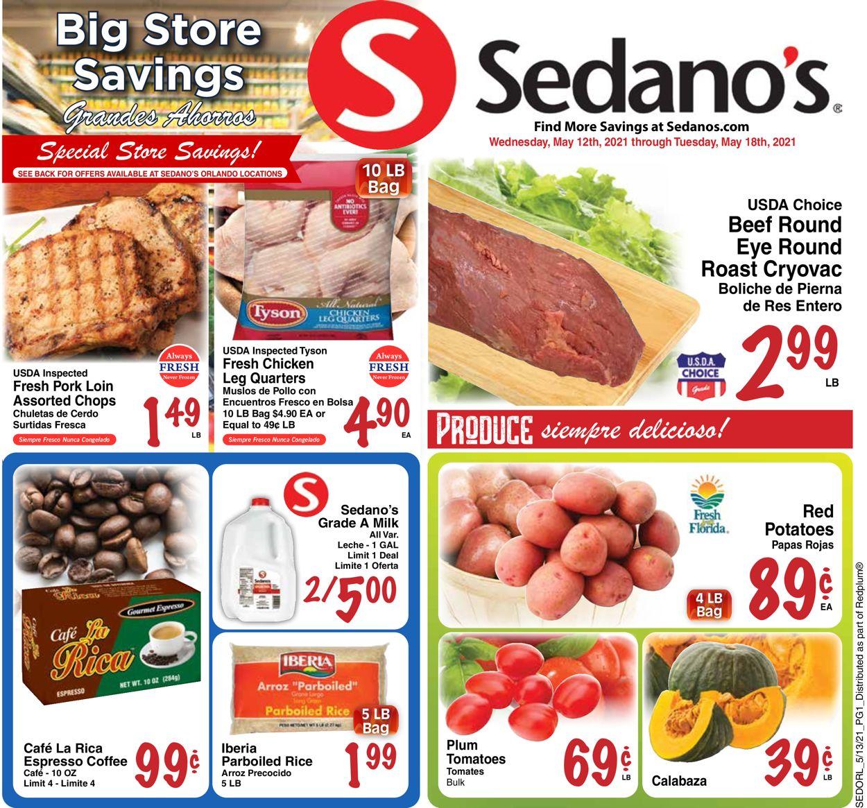 Sedano's Weekly Ad Circular - valid 05/12-05/18/2021