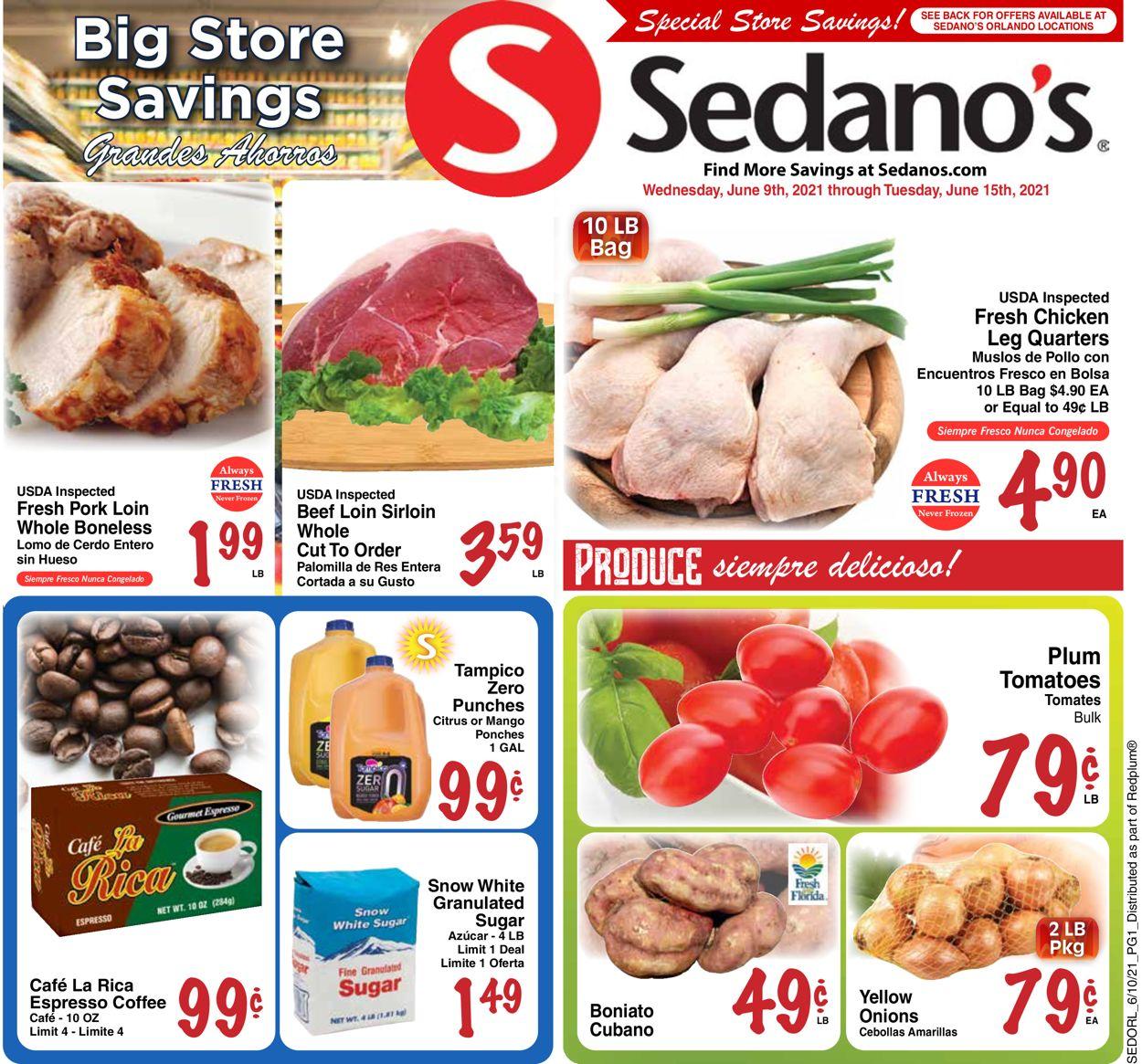 Sedano's Weekly Ad Circular - valid 06/09-06/15/2021
