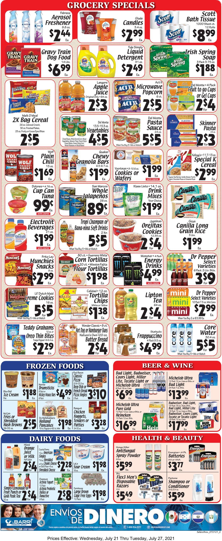 Sellers Bros. Weekly Ad Circular - valid 07/21-07/27/2021 (Page 2)