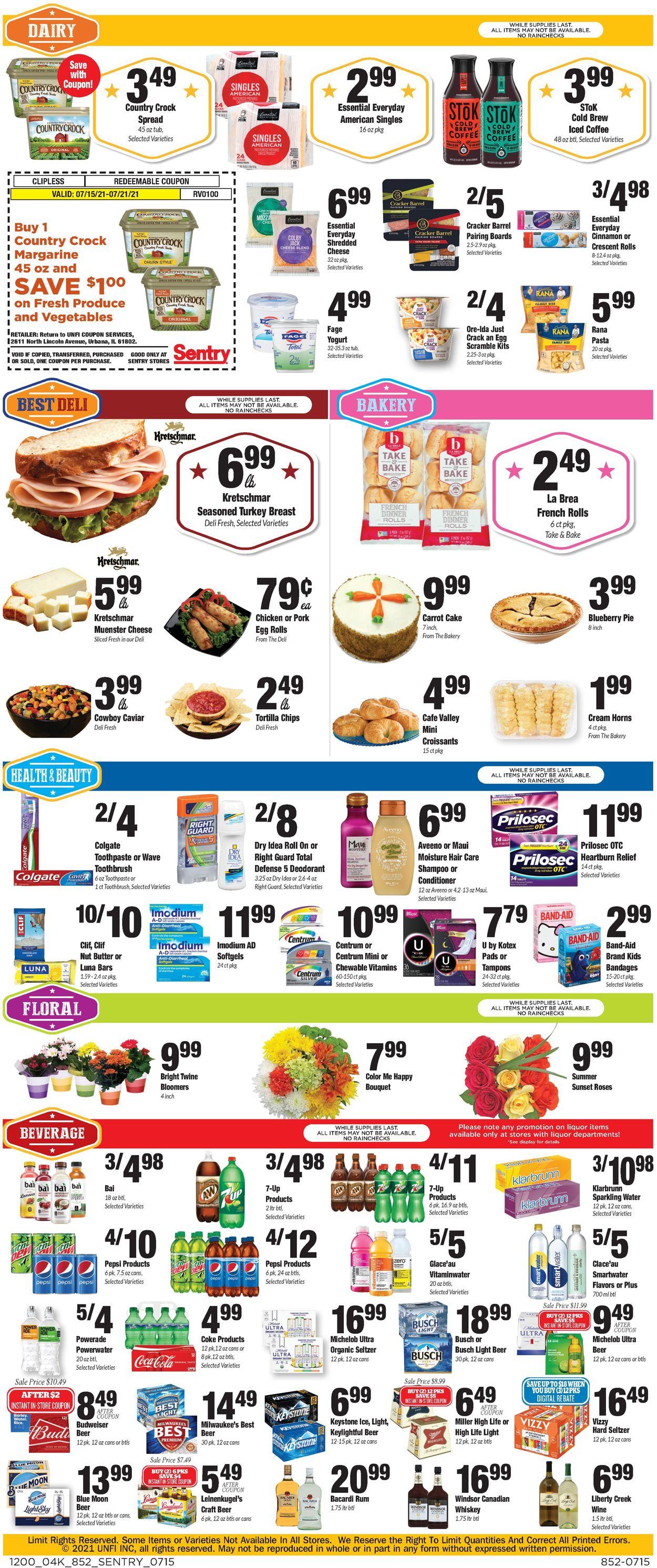 Sentry Weekly Ad Circular - valid 07/15-07/21/2021 (Page 4)