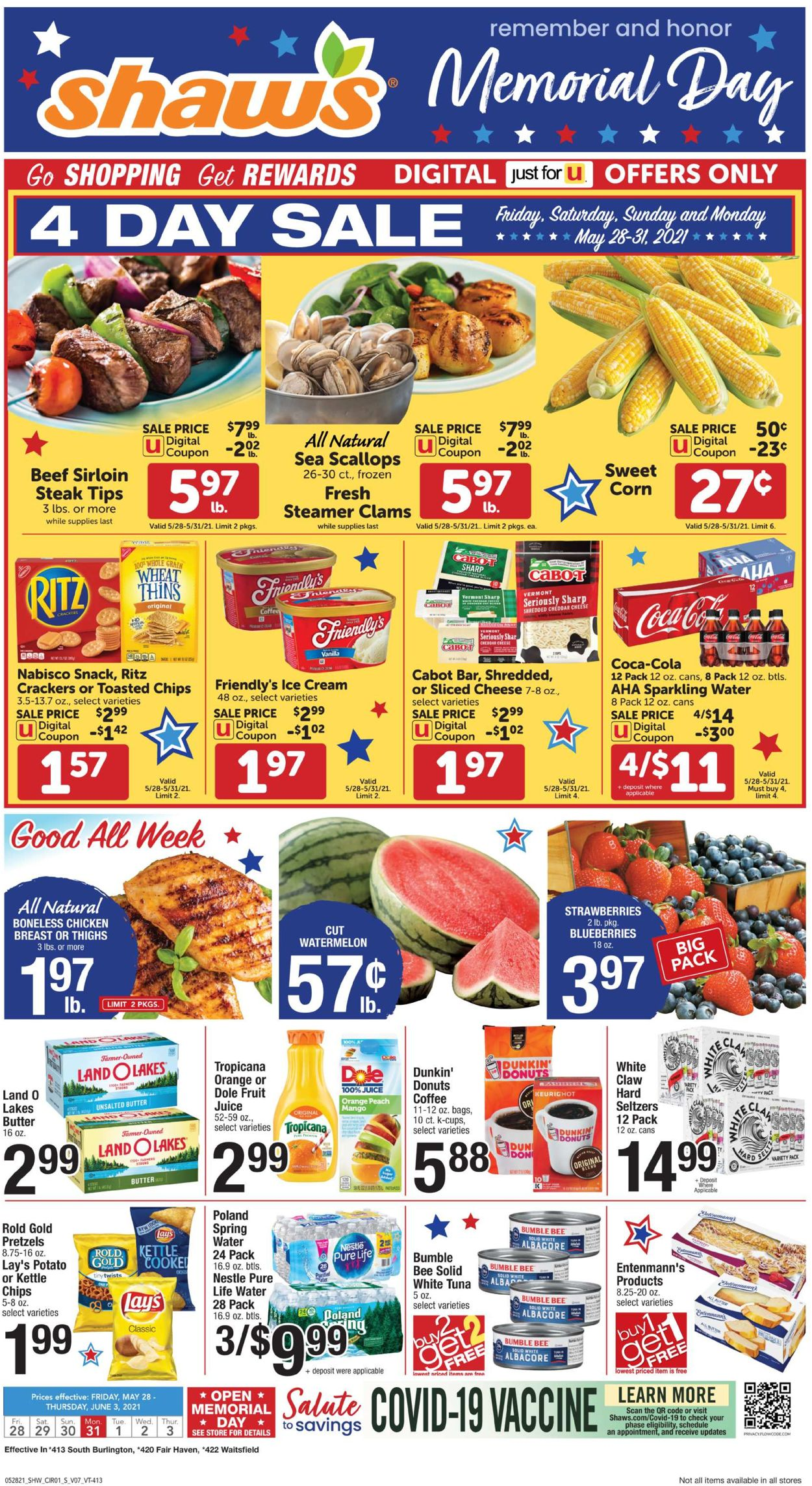 Shaw's Weekly Ad Circular - valid 05/28-06/03/2021