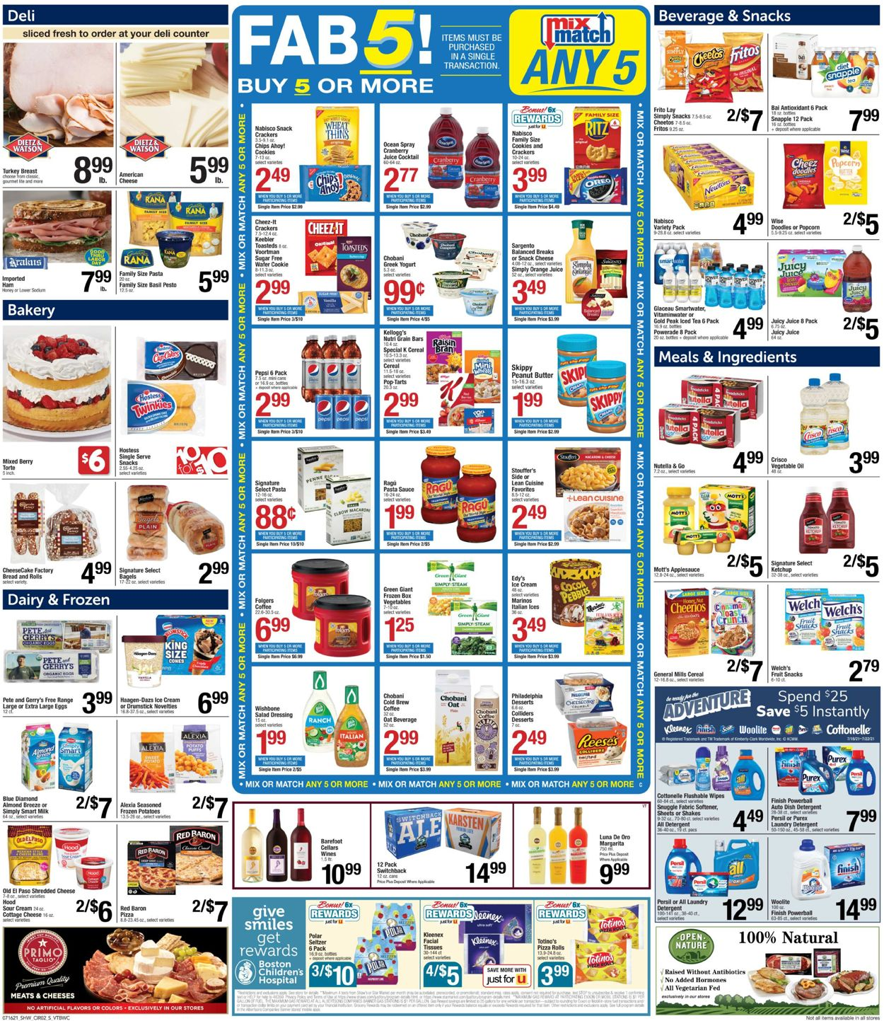 Shaw's Weekly Ad Circular - valid 07/16-07/22/2021 (Page 4)