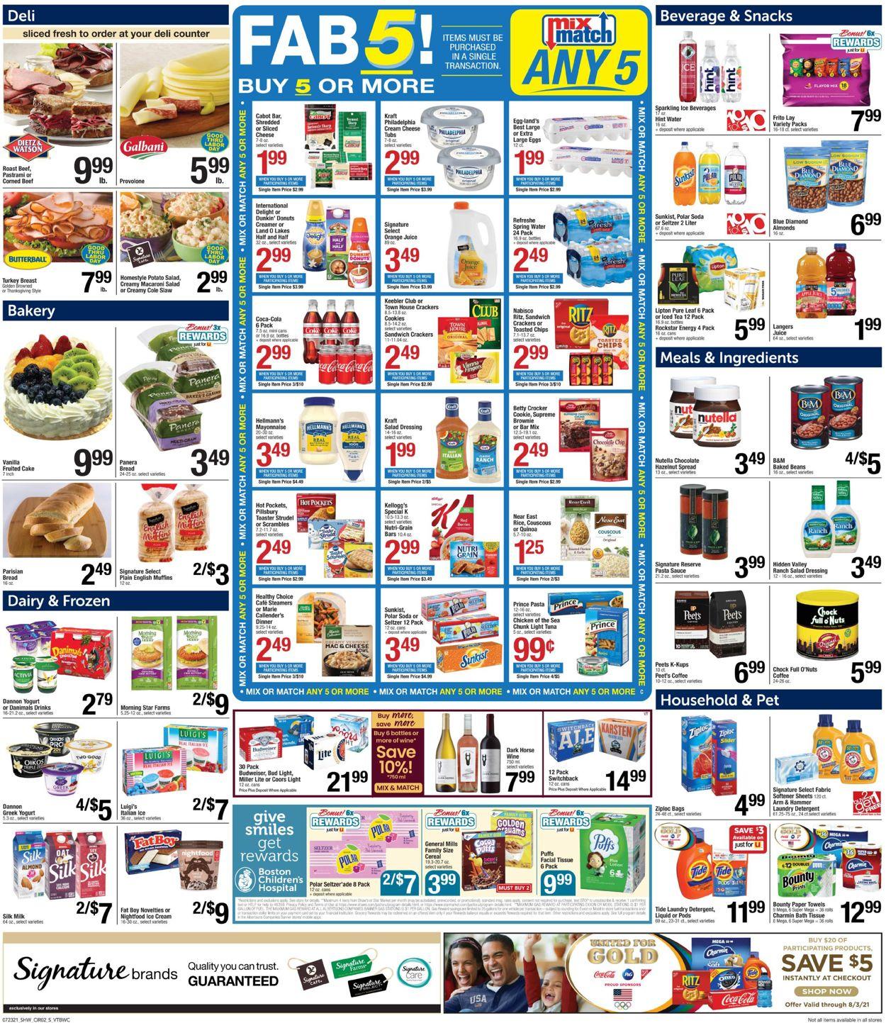 Shaw's Weekly Ad Circular - valid 07/23-07/29/2021 (Page 3)